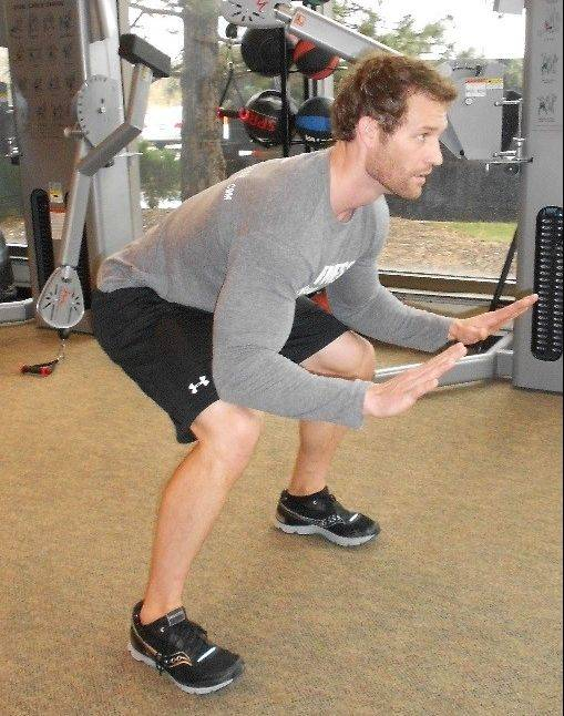 Squat to push-up