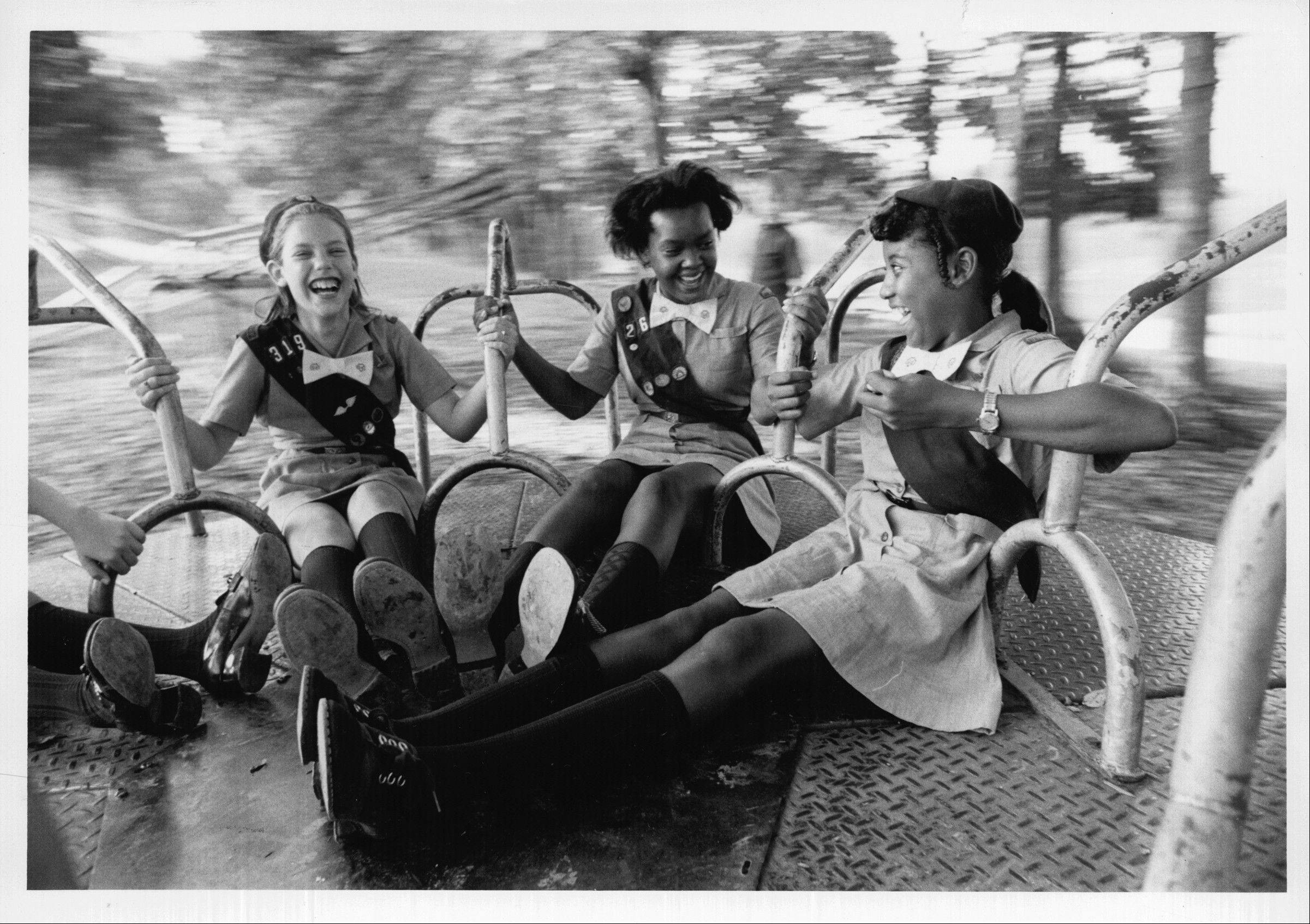 Girl Scouts has allowed girls to form friendships and have fun, like these Juniors in the 1970s, while learning about careers and community service.