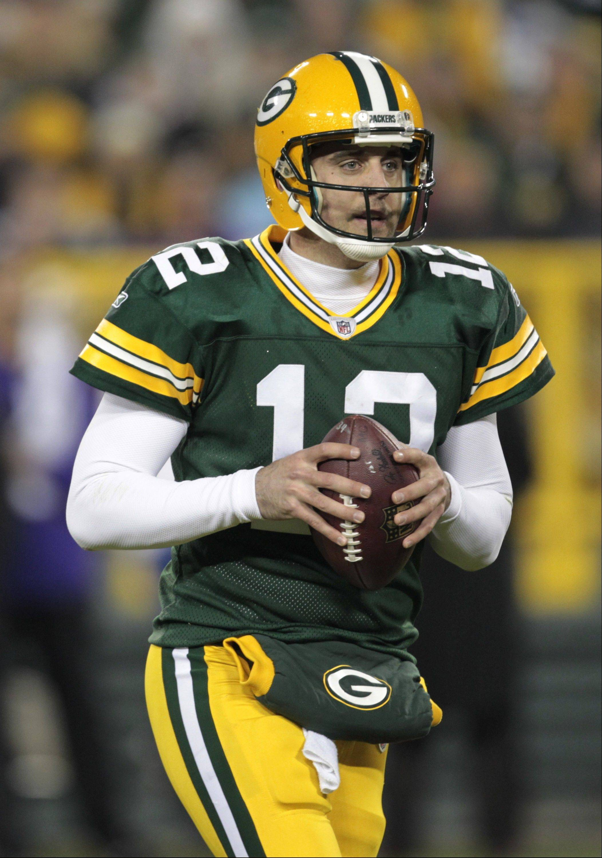 No one -- including the legendary Brett Favre -- has ever played quarterback at a higher level than Green Bay's Aaron Rodgers is playing now.
