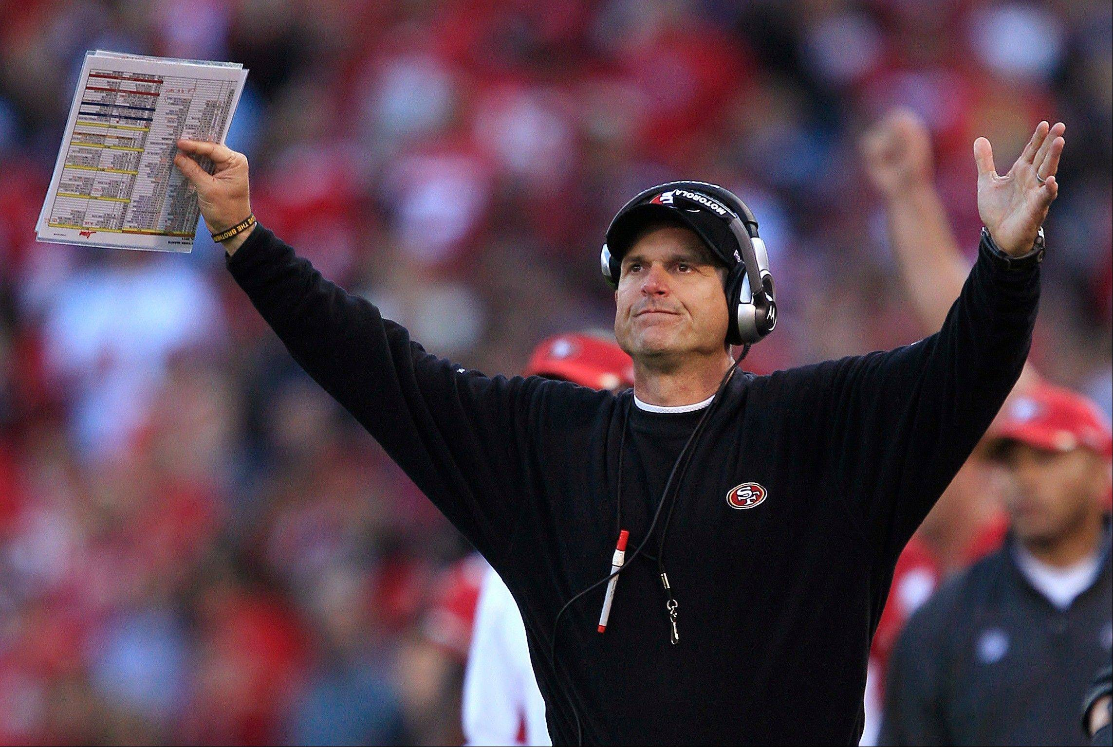 Yes, the San Francisco 49ers are for real, and head coach Jim Harbaugh could finish with the No. 2 seed in the NFC playoffs.