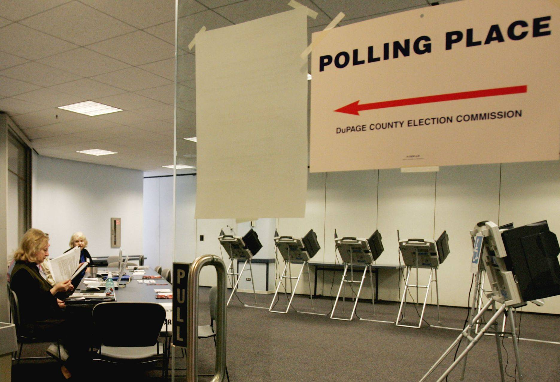 Slow days at early voting centers can cost taxpayers thousands of dollars, so some suburban election officials are s