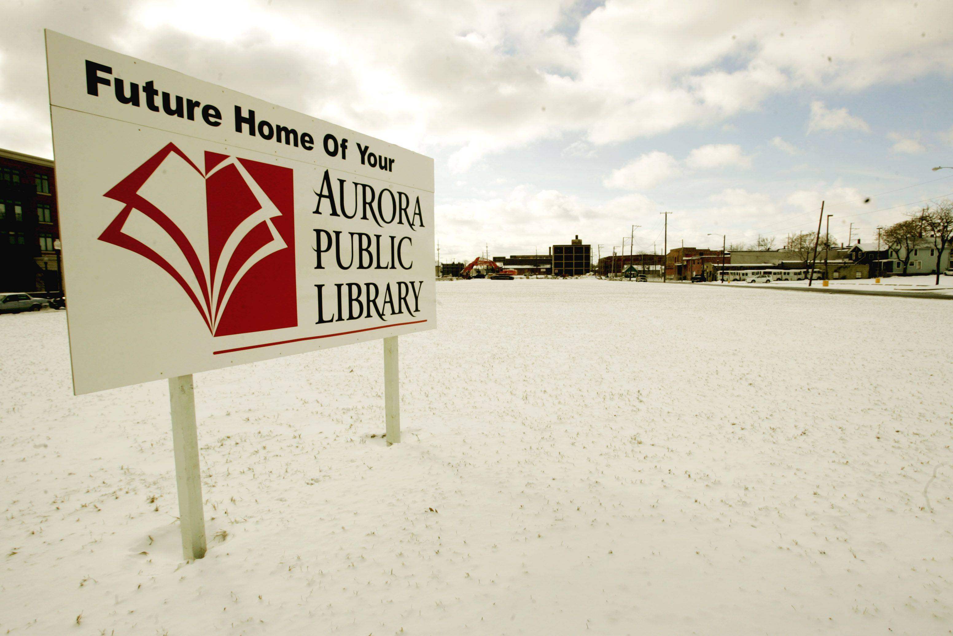 New Aurora library plans taking shape