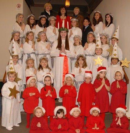 The Swedish American Children's Choir will present its 13th annual Swedish Christmas and St. Lucia Festival at 3 p.m. Saturday, Dec. 3, at Bethany Lutheran Church, Batavia.