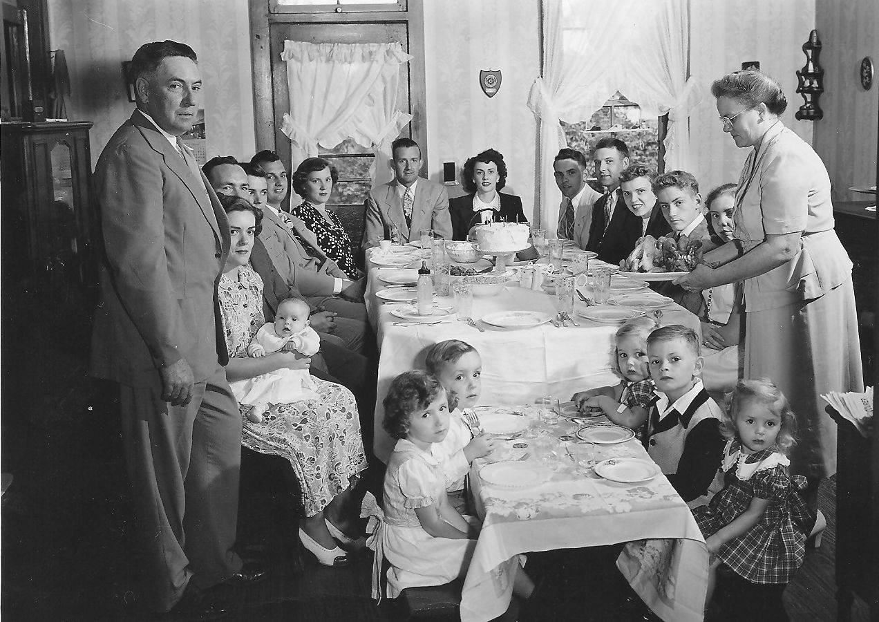 For Stephanie Penick, this family photograph from Thanksgiving 1950 brings back countless memories.