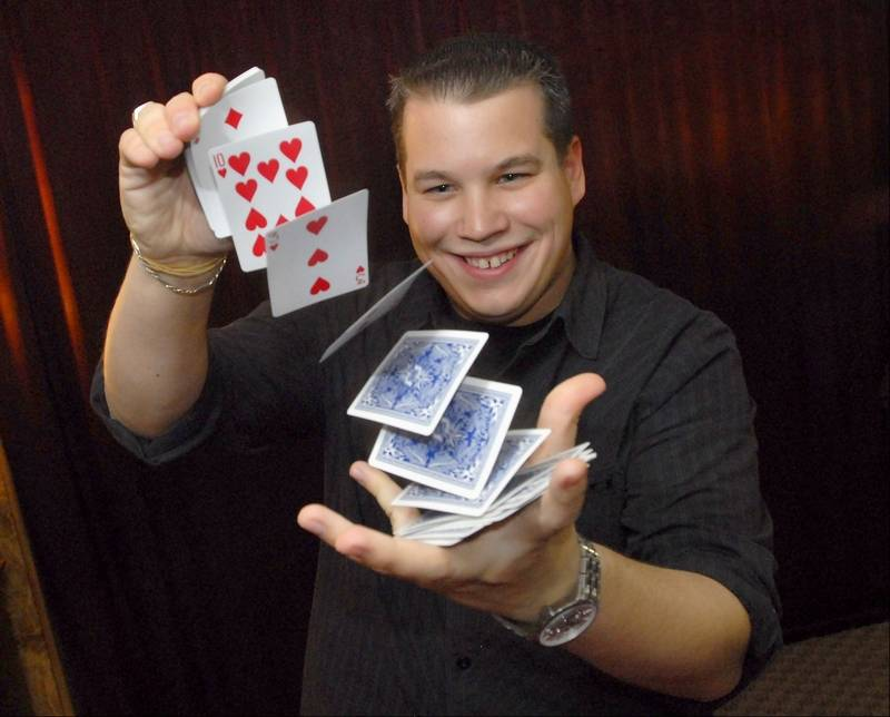 Prospect Heights magician Bill Cook\'s talent is no illusion