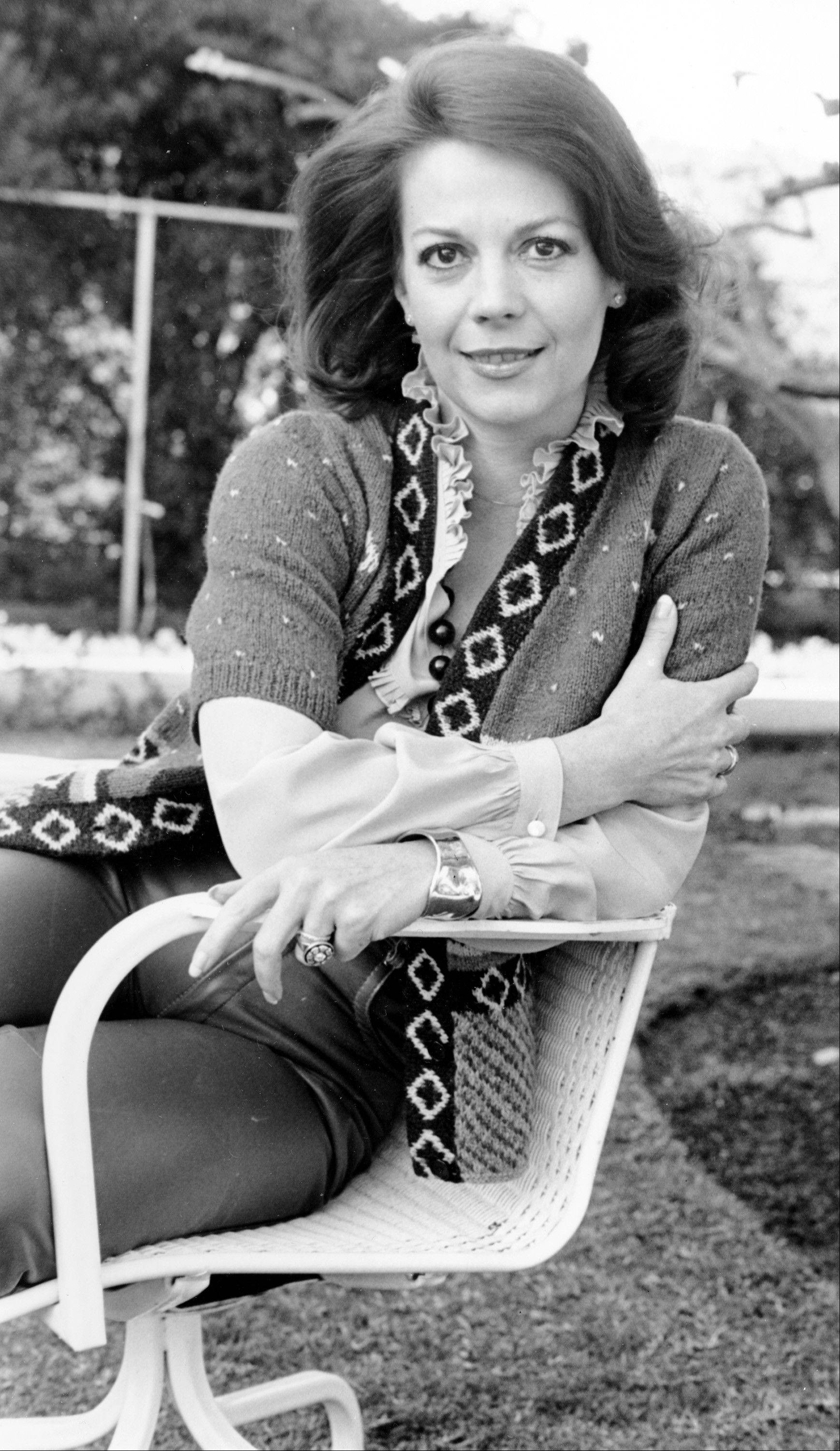 In a Jan. 30, 1979 file photo, actress Natalie Wood poses in Los Angeles, Calif. Dennis Davern, captain of the yacht Splendour, which Wood was aboard on the night she died, said on national TV Friday, Nov. 18, 2011 that he lied to investigators about Natalie Wood's mysterious death 30 years ago and blames the actress' husband at the time, Robert Wagner, for her drowning in the ocean off Southern California. A Los Angeles County sheriff's detective will speak to reporters Friday about the decision to take another look at the Oscar-nominated actress' nighttime demise.
