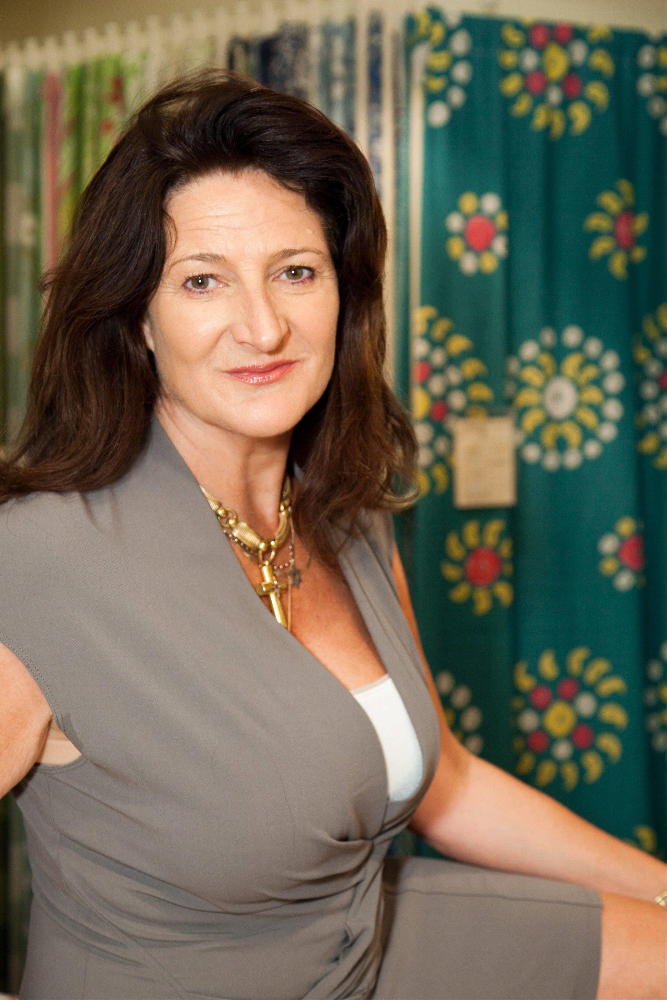 Kathryn Ireland celebrity designer shares affordable advice