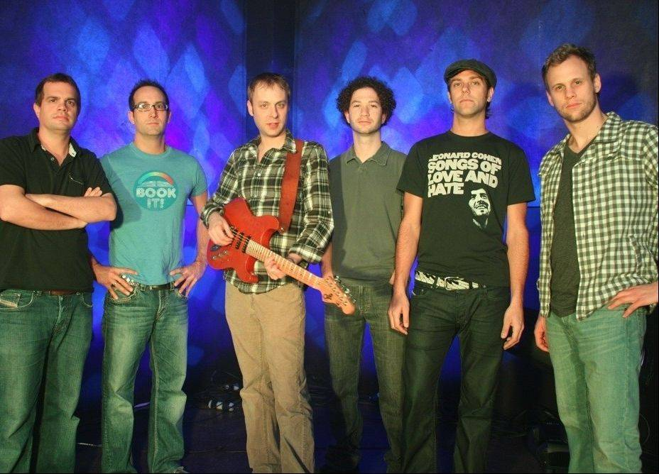 The six-piece progressive rock jam band Umphrey's McGee -- with Palatine native Kris Myers, far right, on drums -- will be playing two shows at the Aragon Entertainment Center in Chicago Nov. 25 and 26.