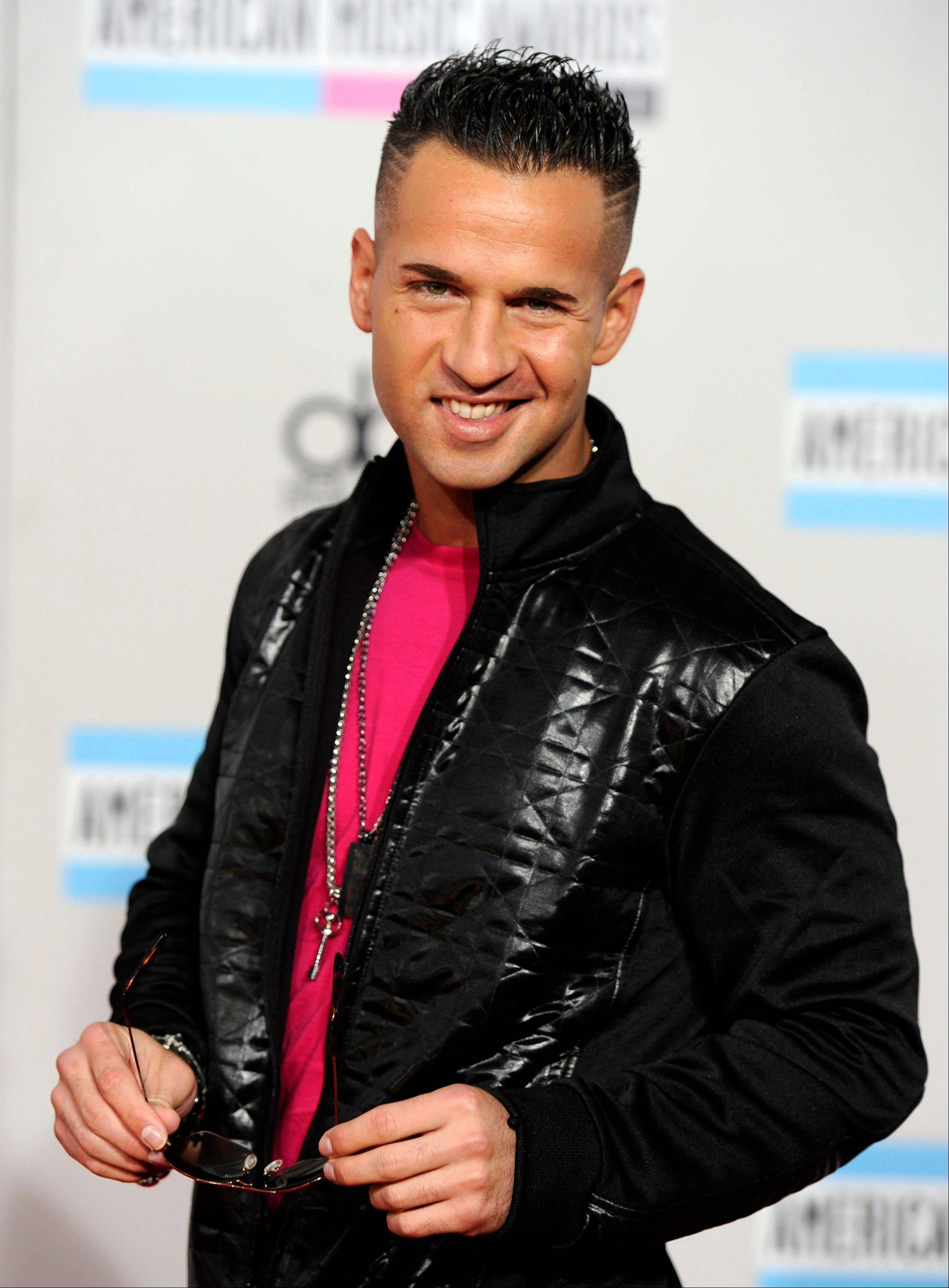 "Michael ""The Situation"" Sorrentino arrives at the 39th Annual American Music Awards on Sunday, Nov. 20, 2011 in Los Angeles."