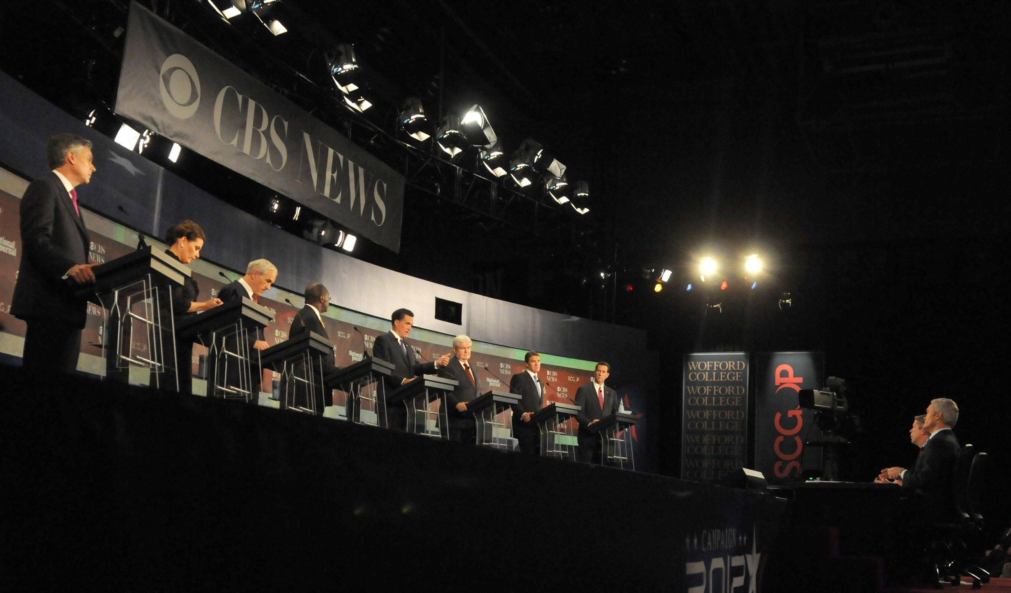Networks walk a tightrope over crowded debates