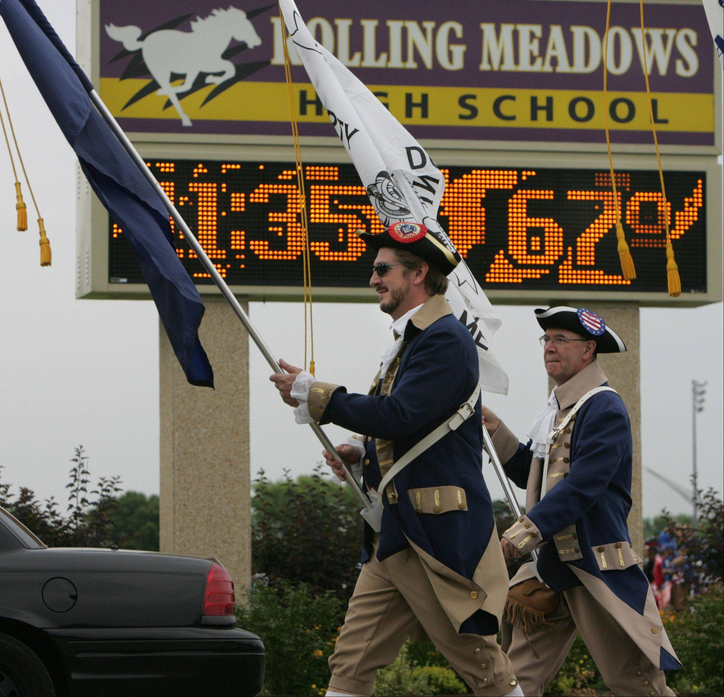 Rolling Meadows' annual Fourth of July parade is facing cancellation next year after its primary sponsor -- the city -- announced it could not afford its usual contribution of nearly $17,000.