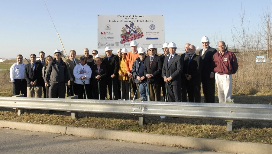 Politicians of various stripes attended a groundbreaking ceremony for a baseball stadium the city of Zion hosted at Trumpet Park. The city never owned the land where officials had claimed the publicly owned stadium would rise.