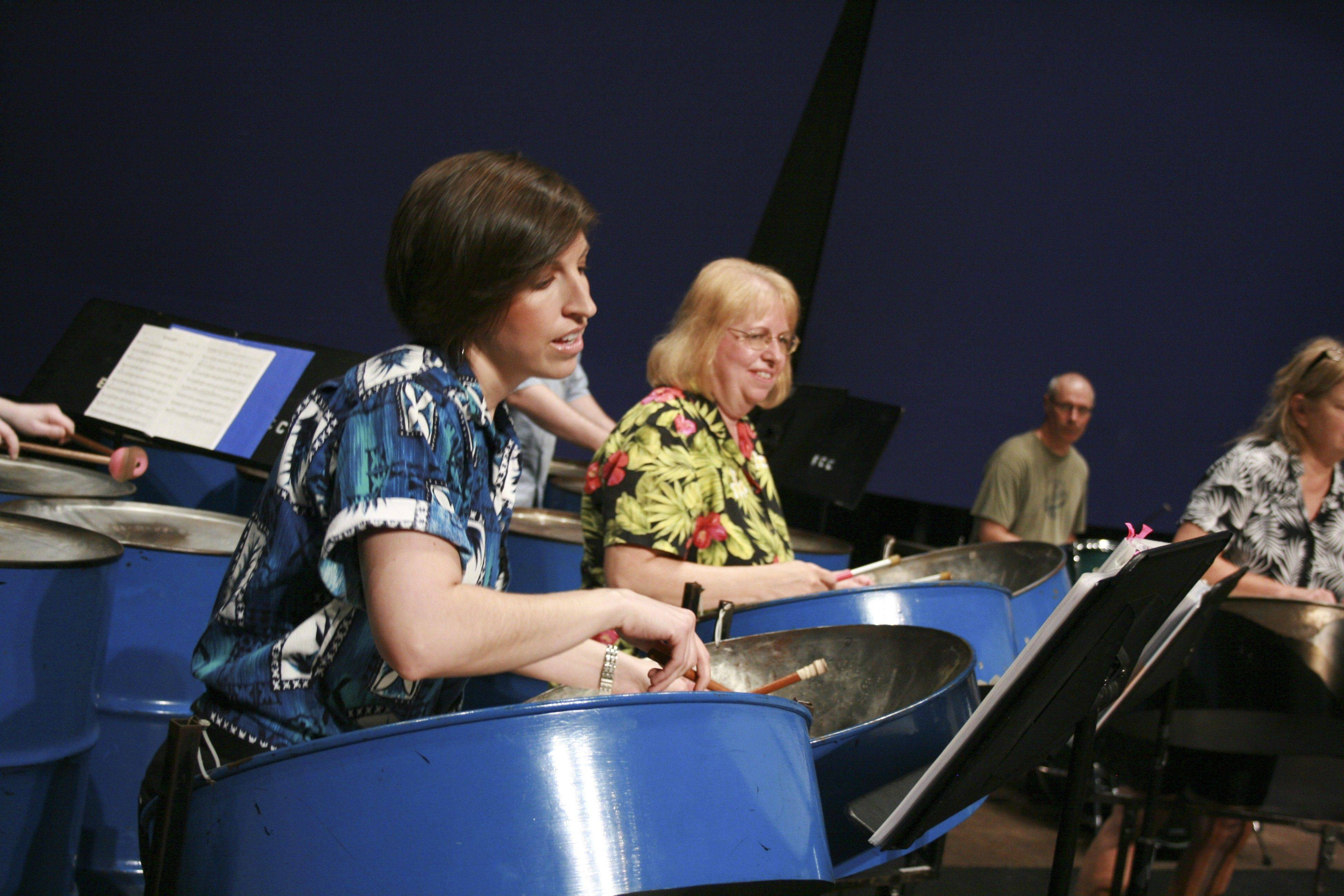"The Elgin Community College Steel Bands will perform ""Heat Up the Holidays"" at 7:30 p.m. Tuesday, Dec. 6, at the ECC Arts Center, 1700 Spartan Drive, Elgin."