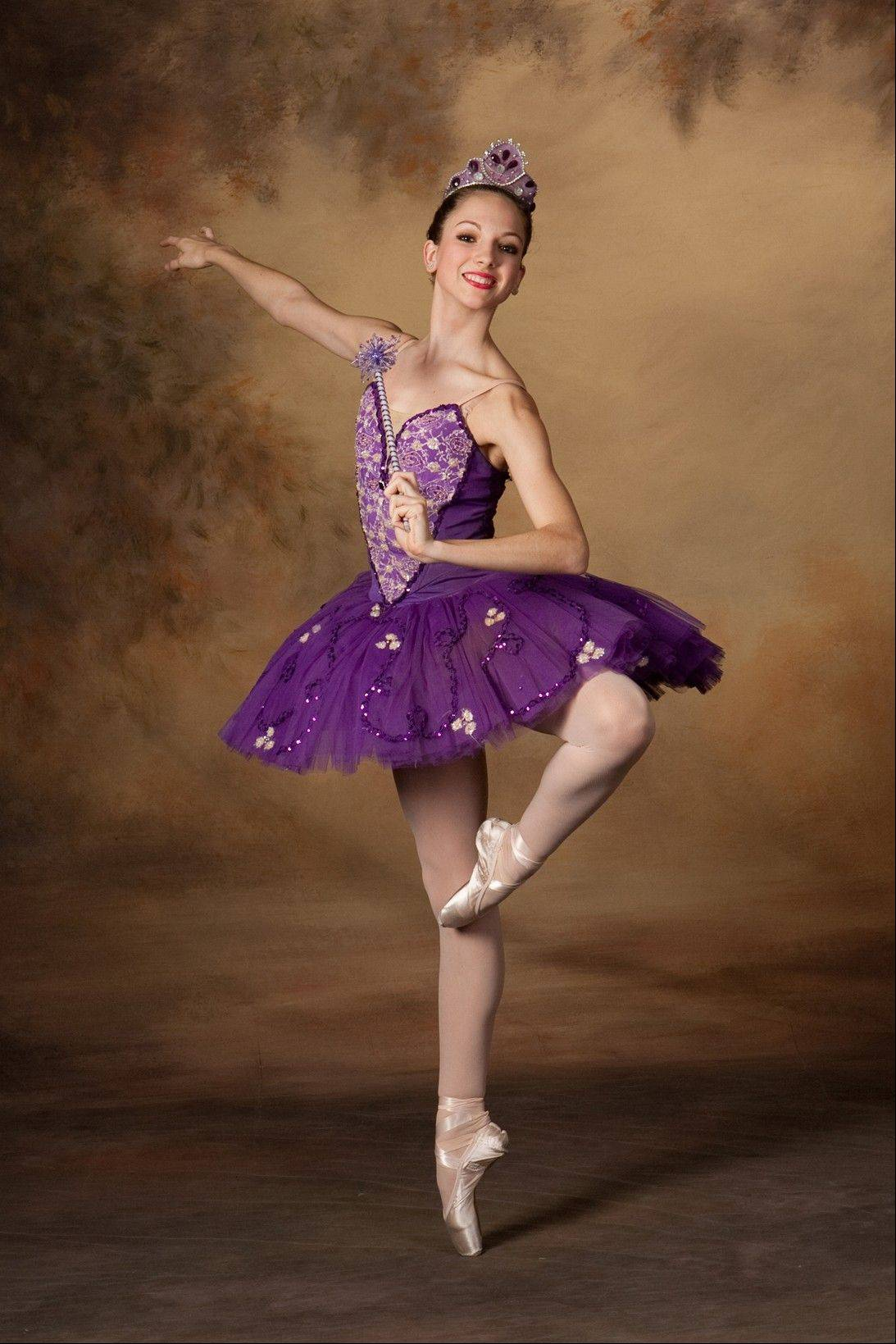 "Emily Smith of Gurnee stars as the Sugar Plum Fairy in Dancenter North's production of ""The Magic of the Nutcracker,"" which plays at Libertyville High School this weekend before moving to the Genesee Theatre in Waukegan."