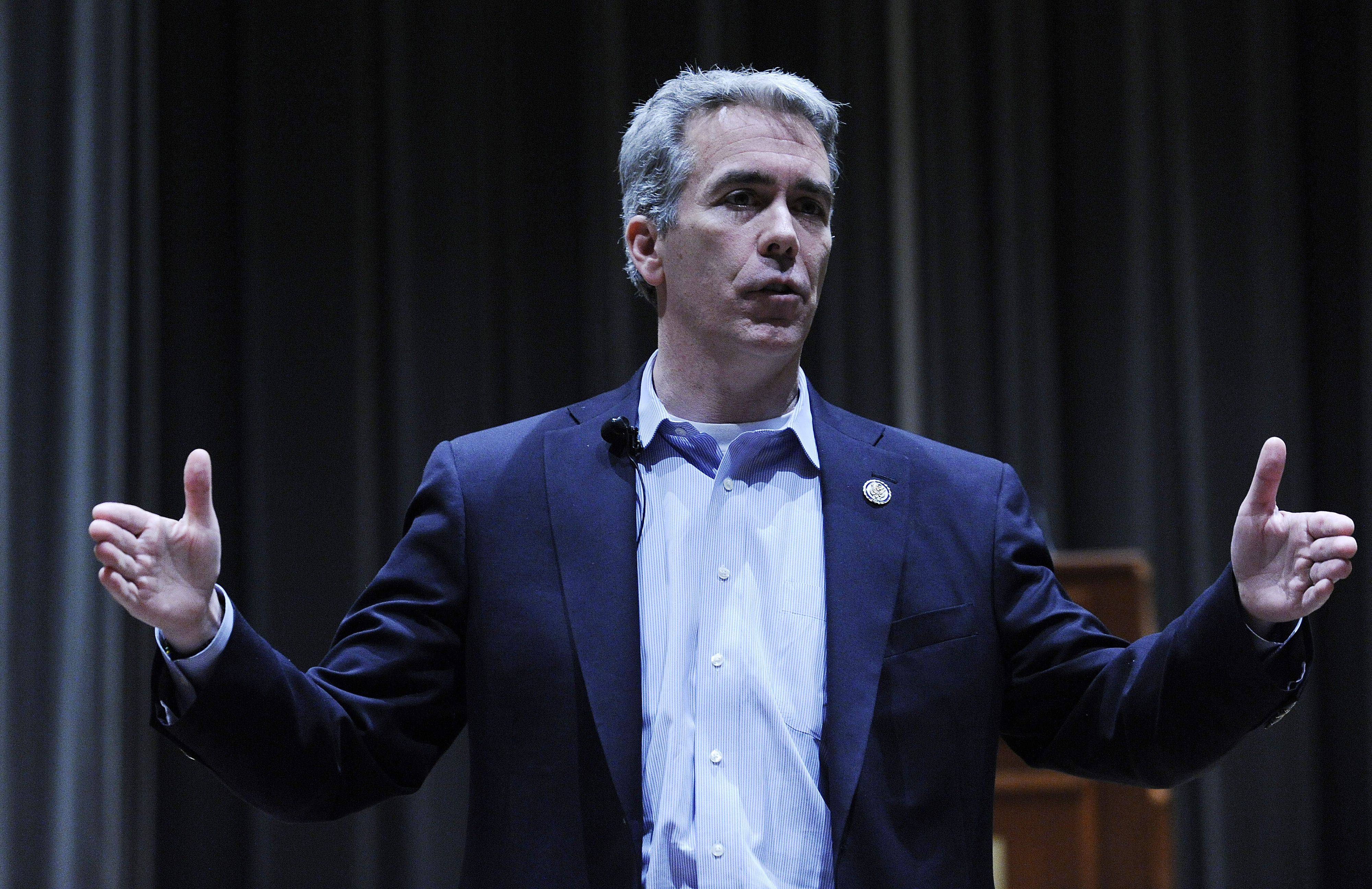 Congressman Joe Walsh is expected to announce as early as the next day or two whether he will run for re-election in a district different from the one where he has already been campaigning.