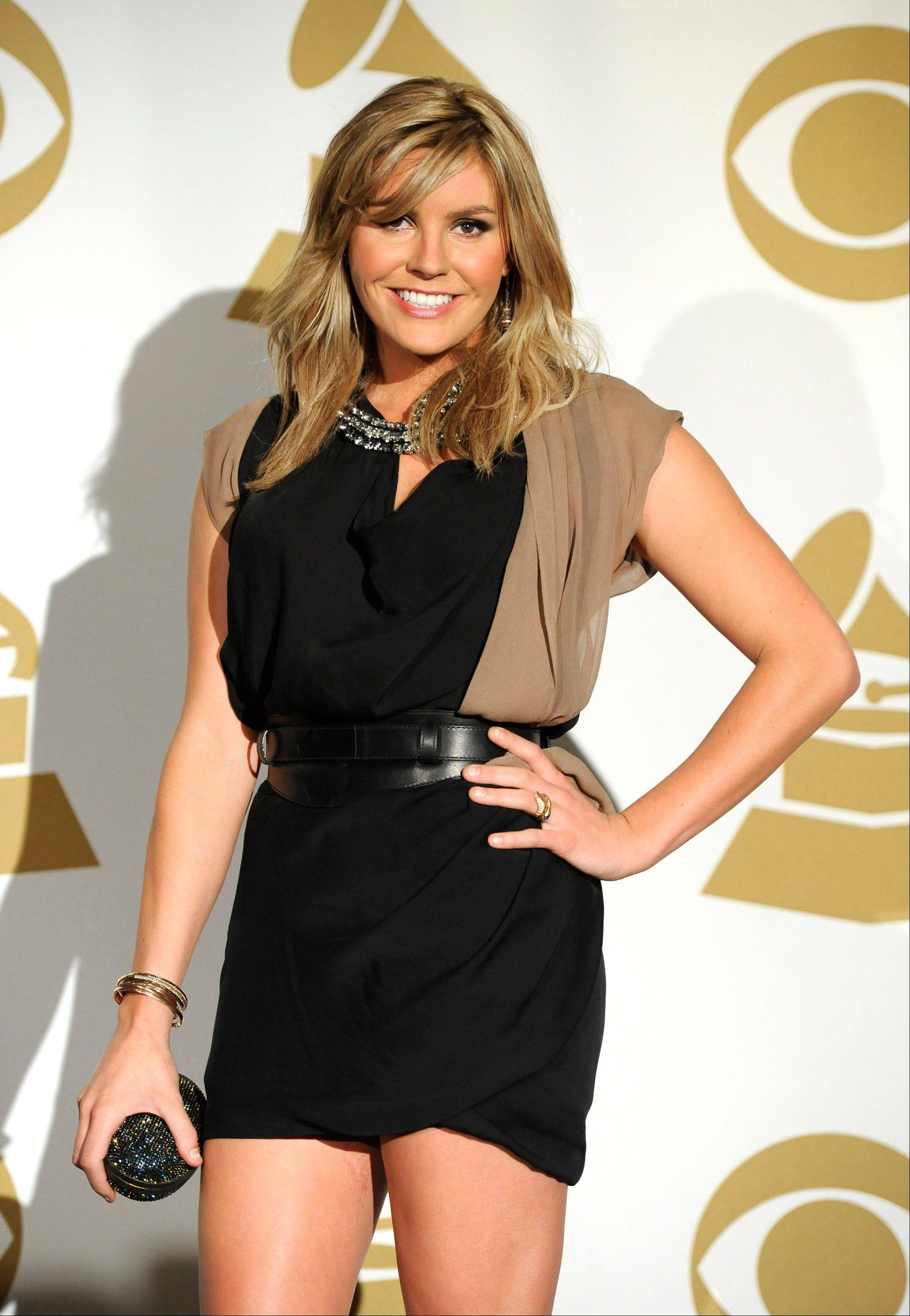 Grace Potter is seen backstage Wednesday at the Grammy Nominations Concert in Los Angeles.