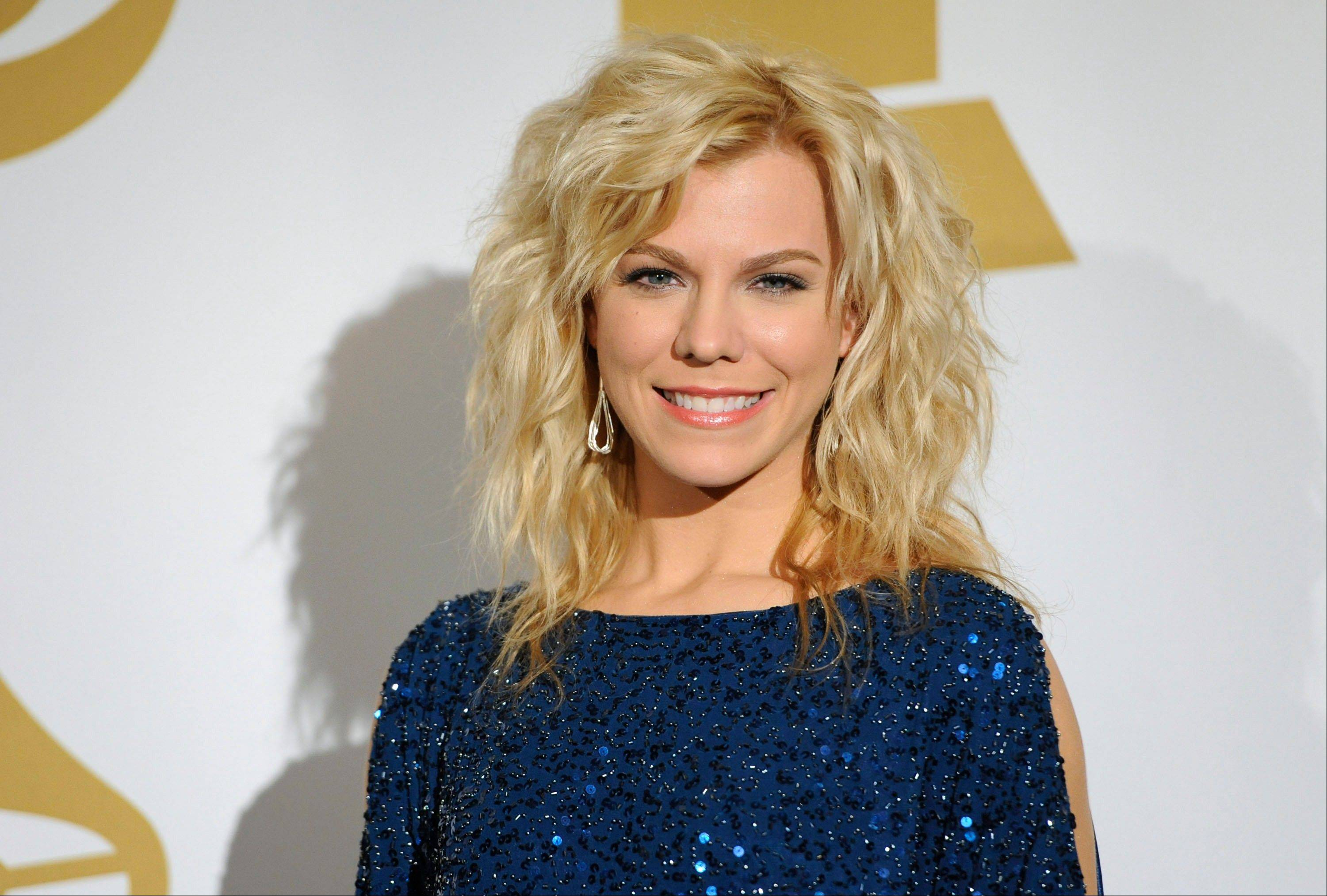 Kimberly Perry of The Band Perry backstage Wednesday at the Grammy Nominations Concert in Los Angeles.