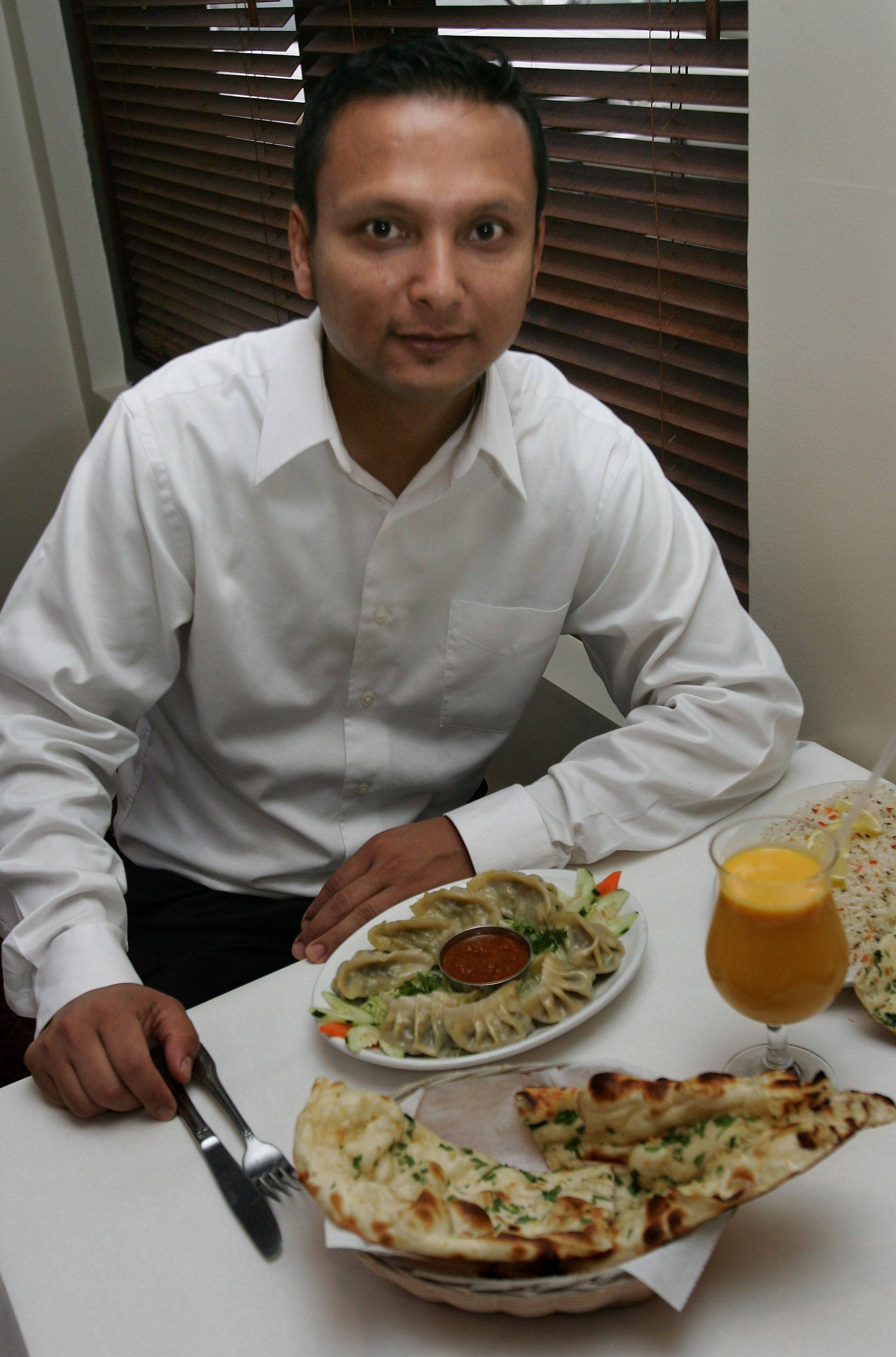 Owner Vivek Rajkunwar invites diners to try Indian/Nepalese cuisine at the Himalayan Restaurant in Gurnee.