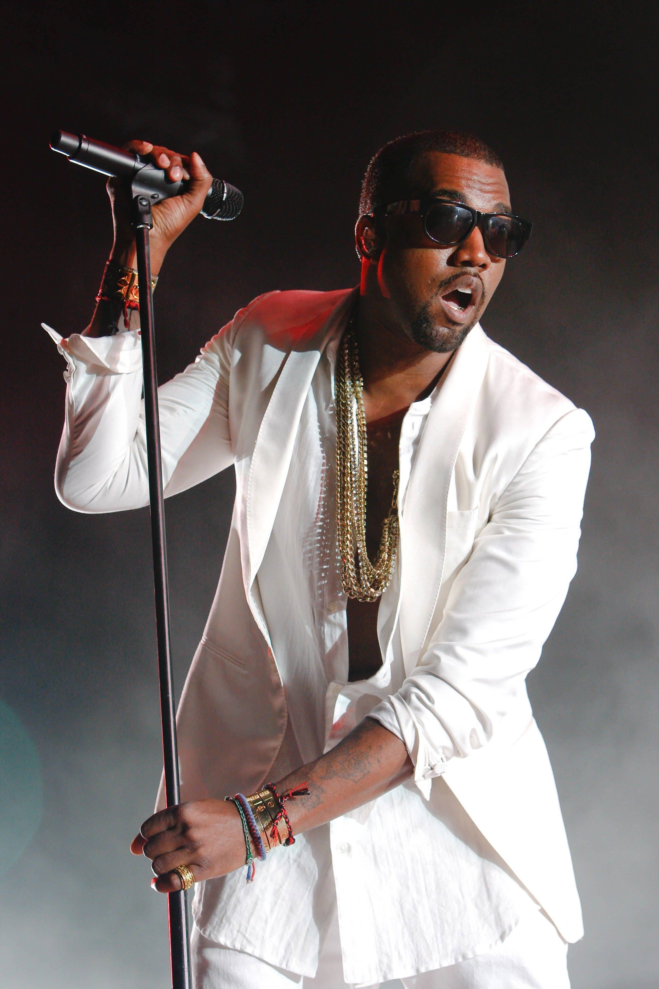 Kanye West was nominated for seven Grammy Awards on Wednesday. The awards will be held on Feb. 12.