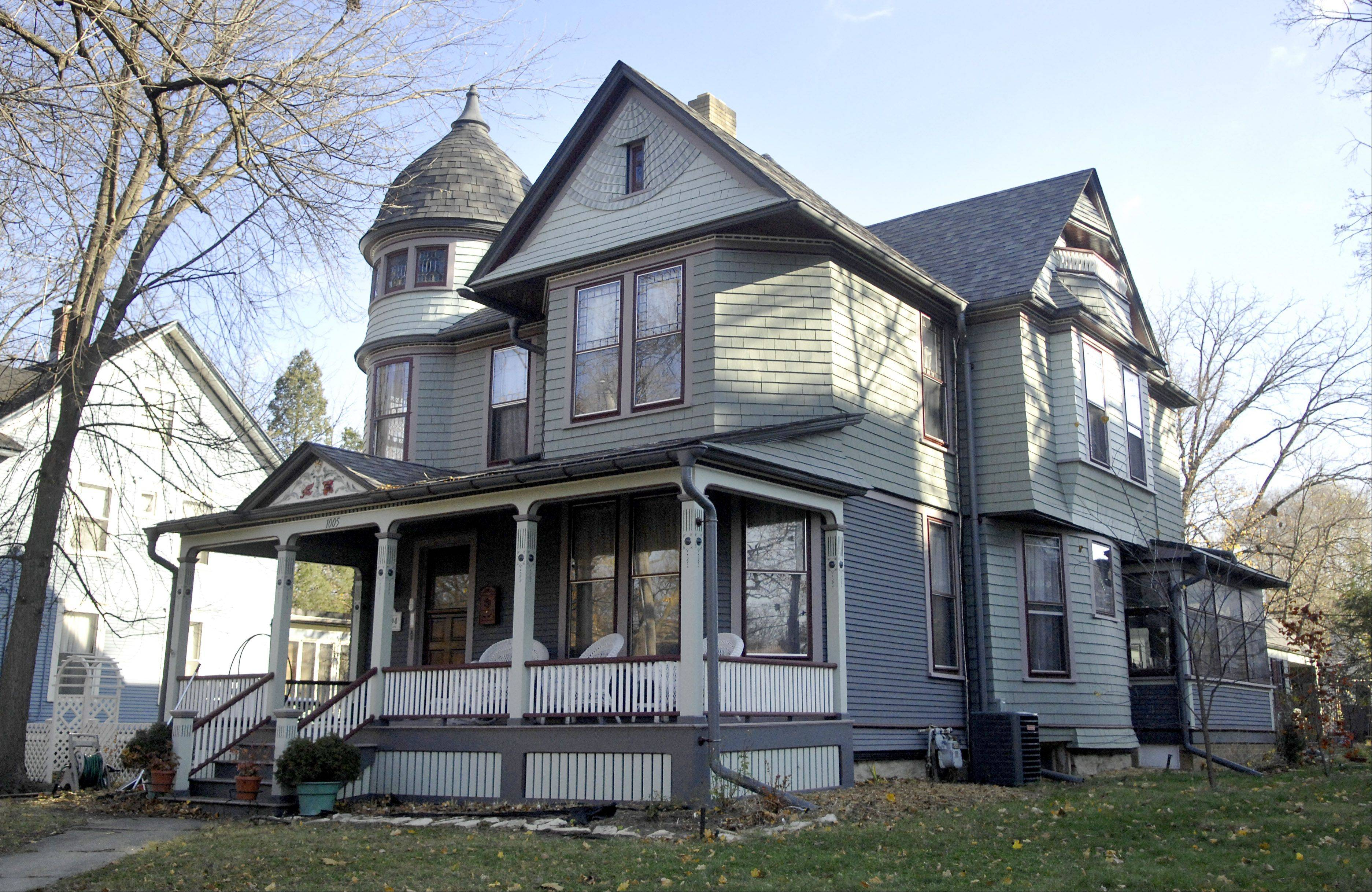 The home of Patricia Harkin and James Sosnoski at 1005 N. Spring St., Elgin, will be on this year's Homes for the Holidays House Walk, sponsored by the North East Neighborhood Association.