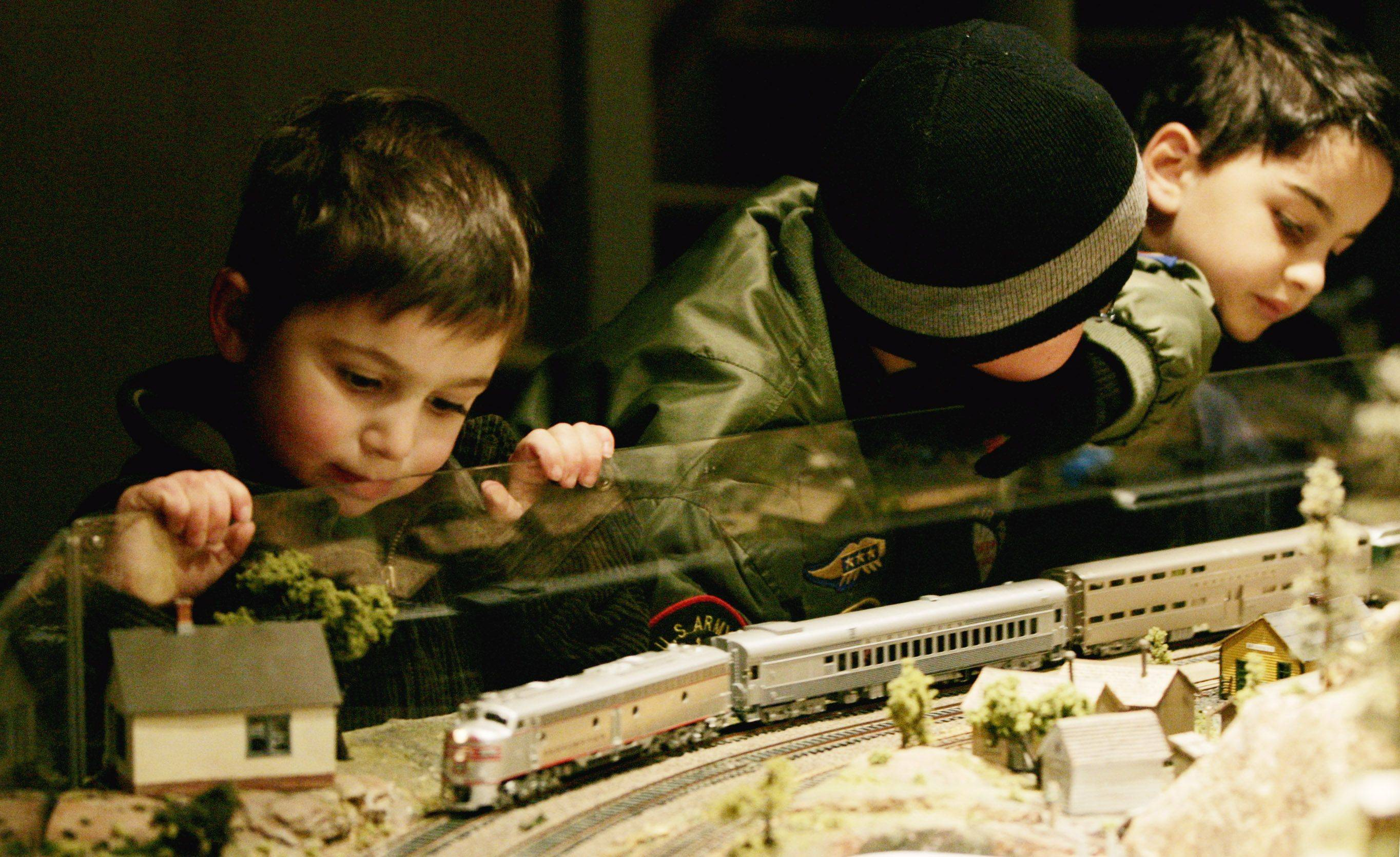 A model railroad display is just one of the holiday traditions the Lisle Heritage Society embraces in the annual Once Upon a Christmas celebration, part of a weekend of festivities that includes the village's tree-lighting and luminaria display.