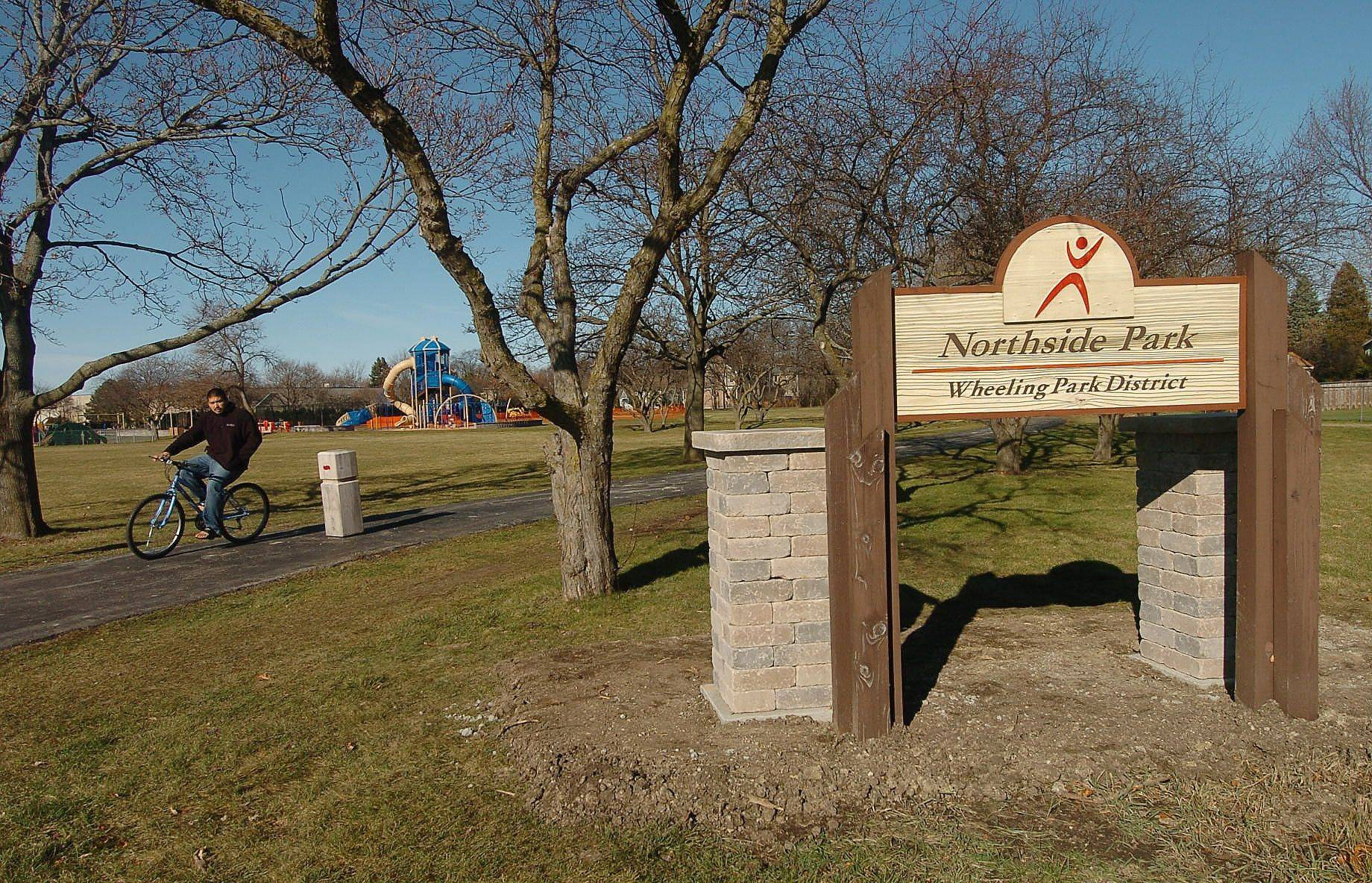 Northside Park in Wheeling reopened recently after a three-month, $250,000 renovation project that included adding new playground equipment to the 3-acre site.