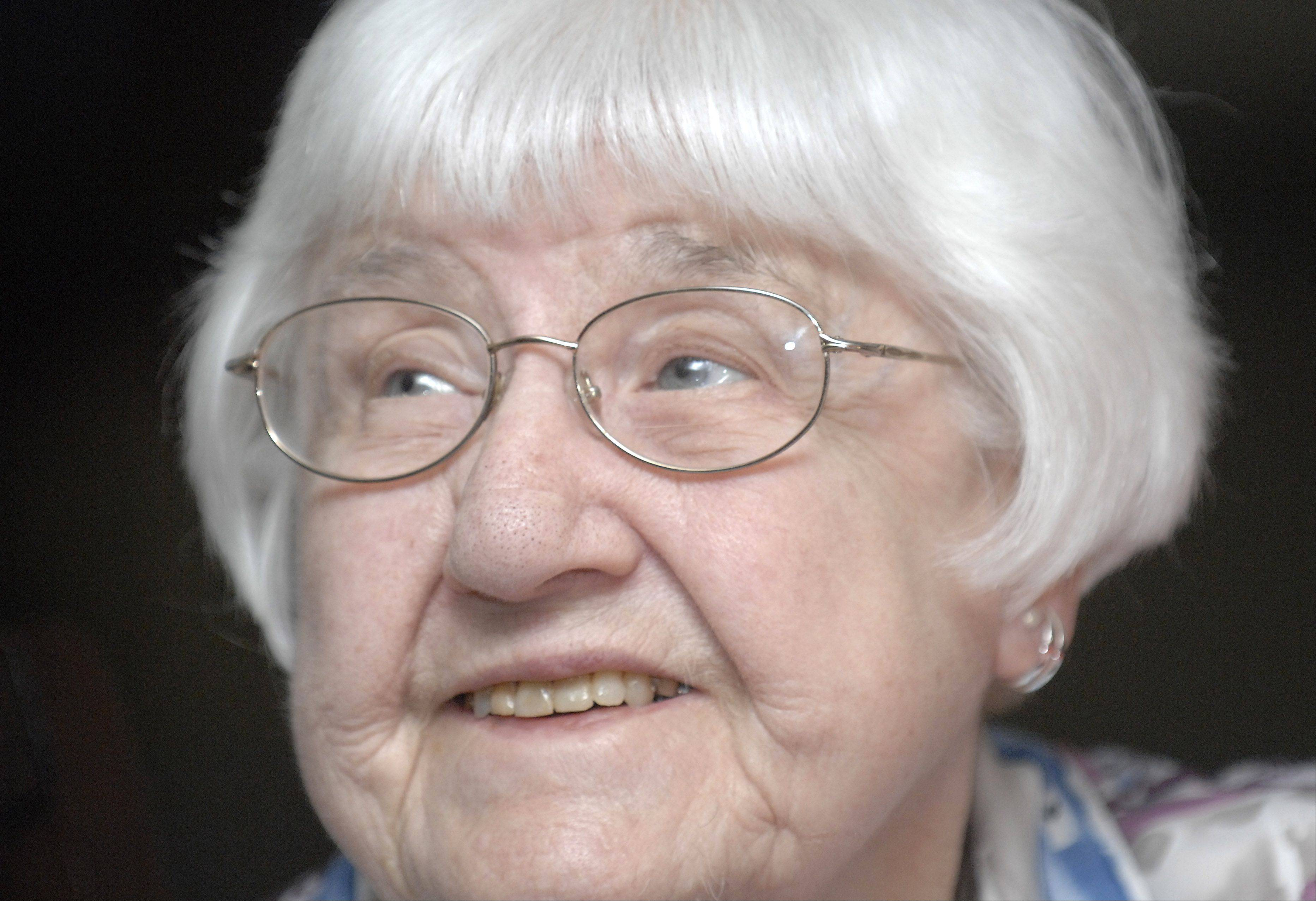 Alice Krieger of Elgin celebrates her 100th birthday Friday.
