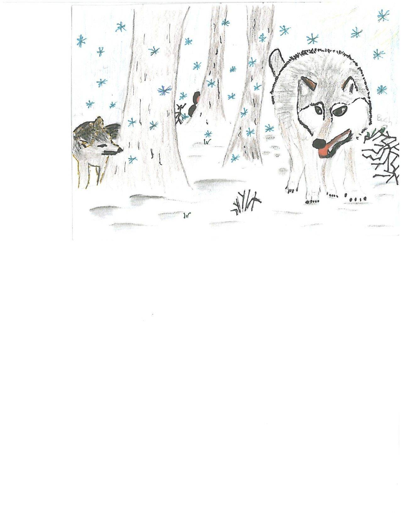 The winning Winter Card Design Contest entry by Ashton Smith.