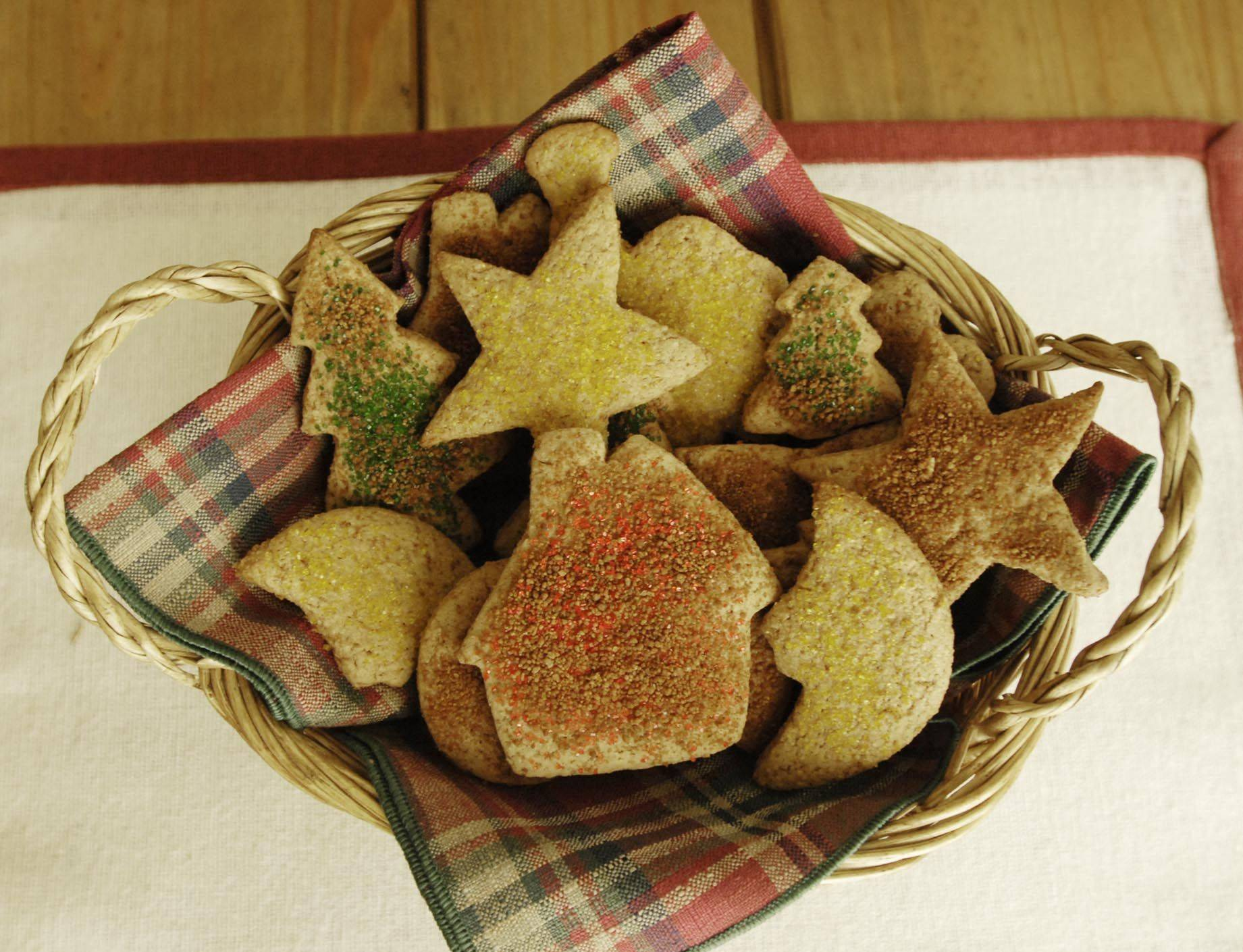 Kristen Gasser's whole wheat Cozy Cookies.