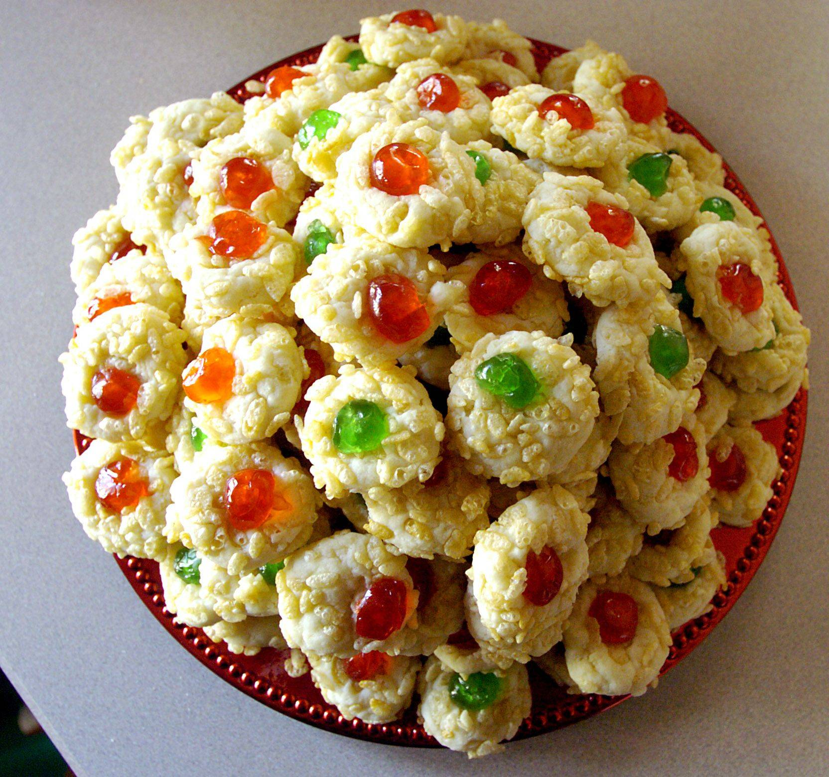 Cream Cheese Dainties from Kathy Lee of Elk Grove Village are a holiday favorite.