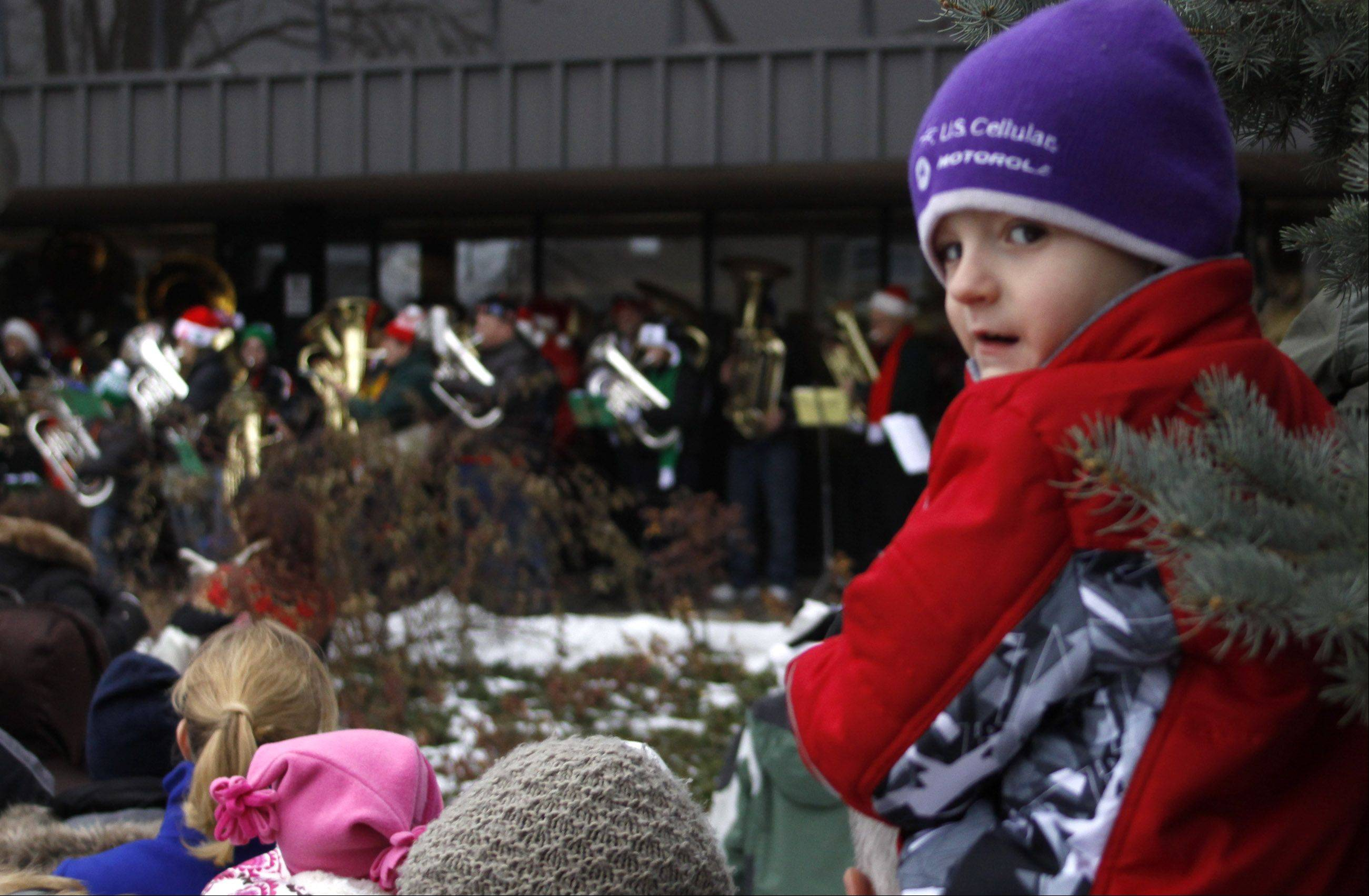 The weather is sometimes frightful, but the music is always delightful during the annual Tuba Christmas performances in Naperville and Aurora.