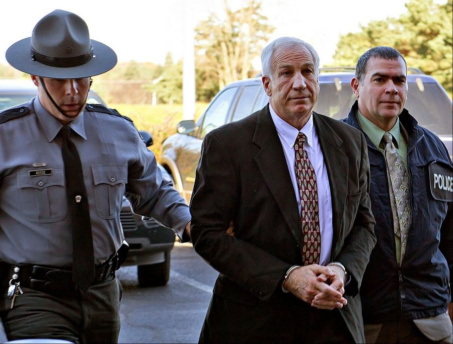 Former Penn State football defensive coordinator Jerry Sandusky  Ex-Penn State coach Jerry Sandusky has been arrested on new sex abuse charges brought by two new accusers.