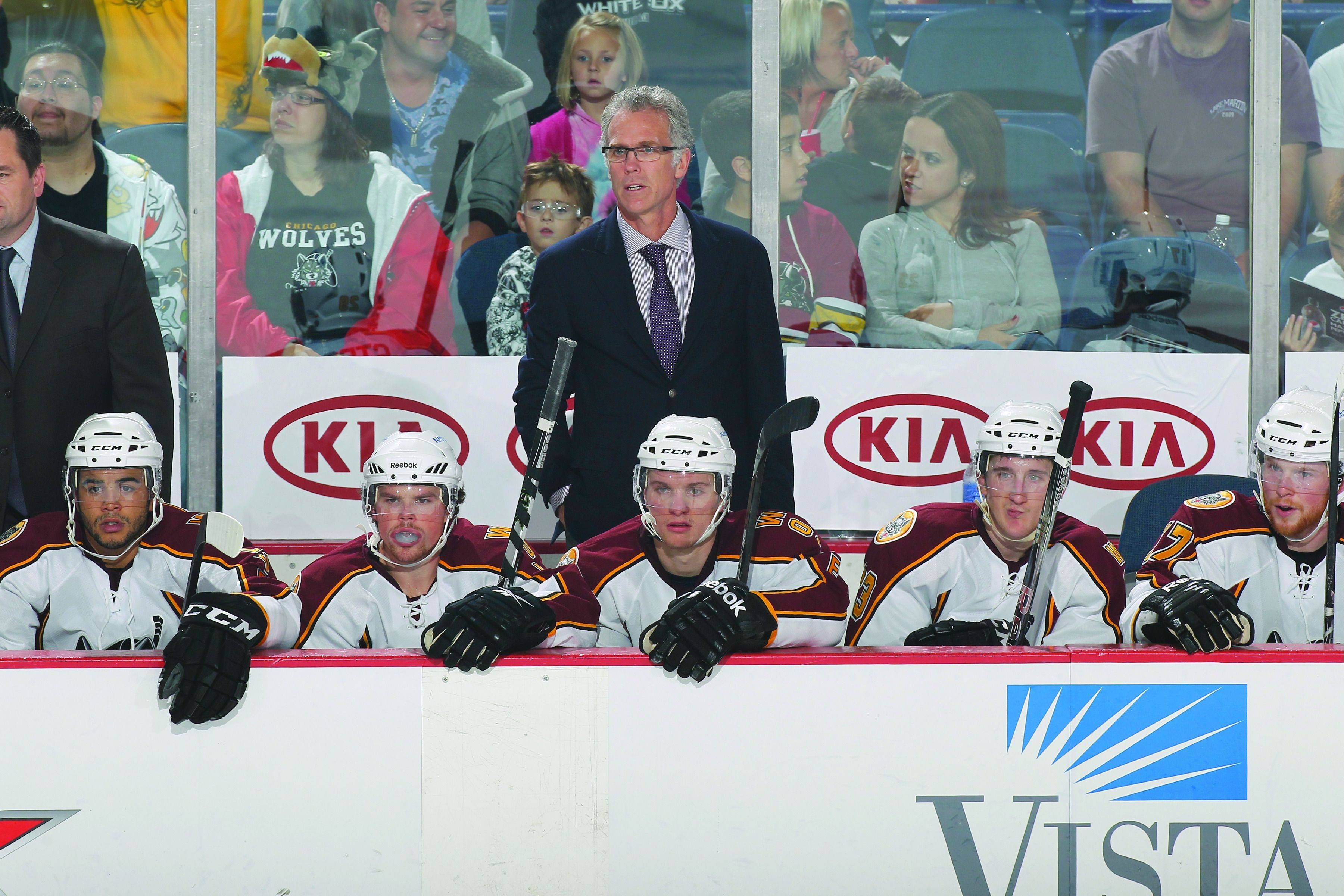After an extensive career in the NHL, Wolves coach Craig MacTavish says he's enjoying coaching in the AHL. His team is 21-9-8-1 this season with two games at Allstate Arena this weekend against Milwaukee and Grand Rapids.