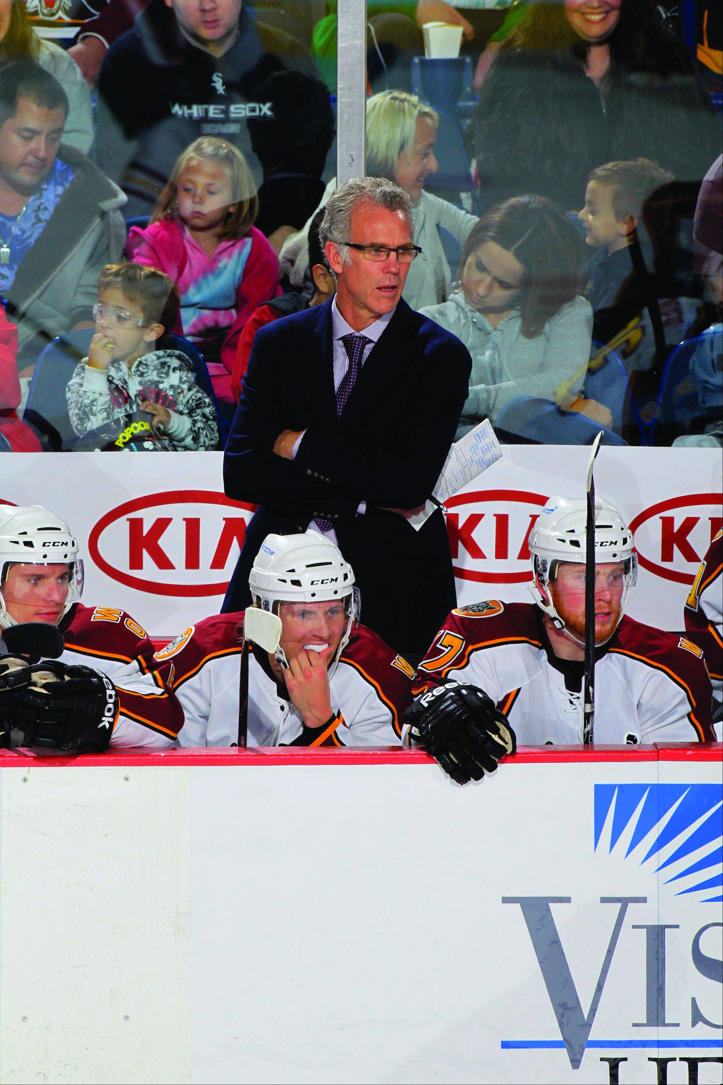 Wolves coach Craig MacTavish, who was a part of four Stanley Cup championships, says he's enjoying his return to coaching after spending a few years as a TV analyst. The Wolves have home games on Saturday and Sunday at Allstate Arena.
