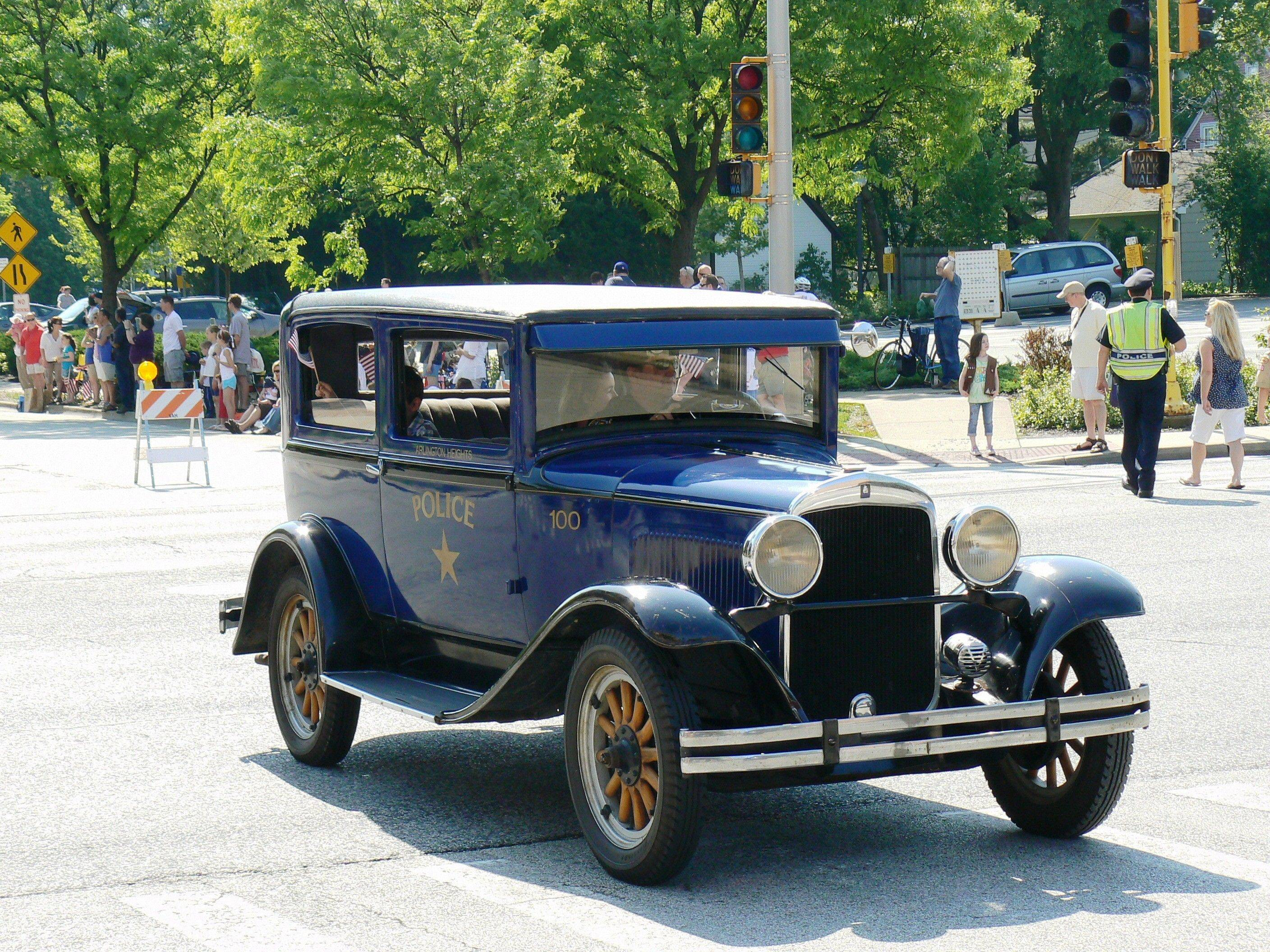 Fundraising efforts are ongoing to restore a vintage 1929 Plymouth similar to the first Arlington Heights police squad car. Costs of the restoration are estimated at more than $24,000.