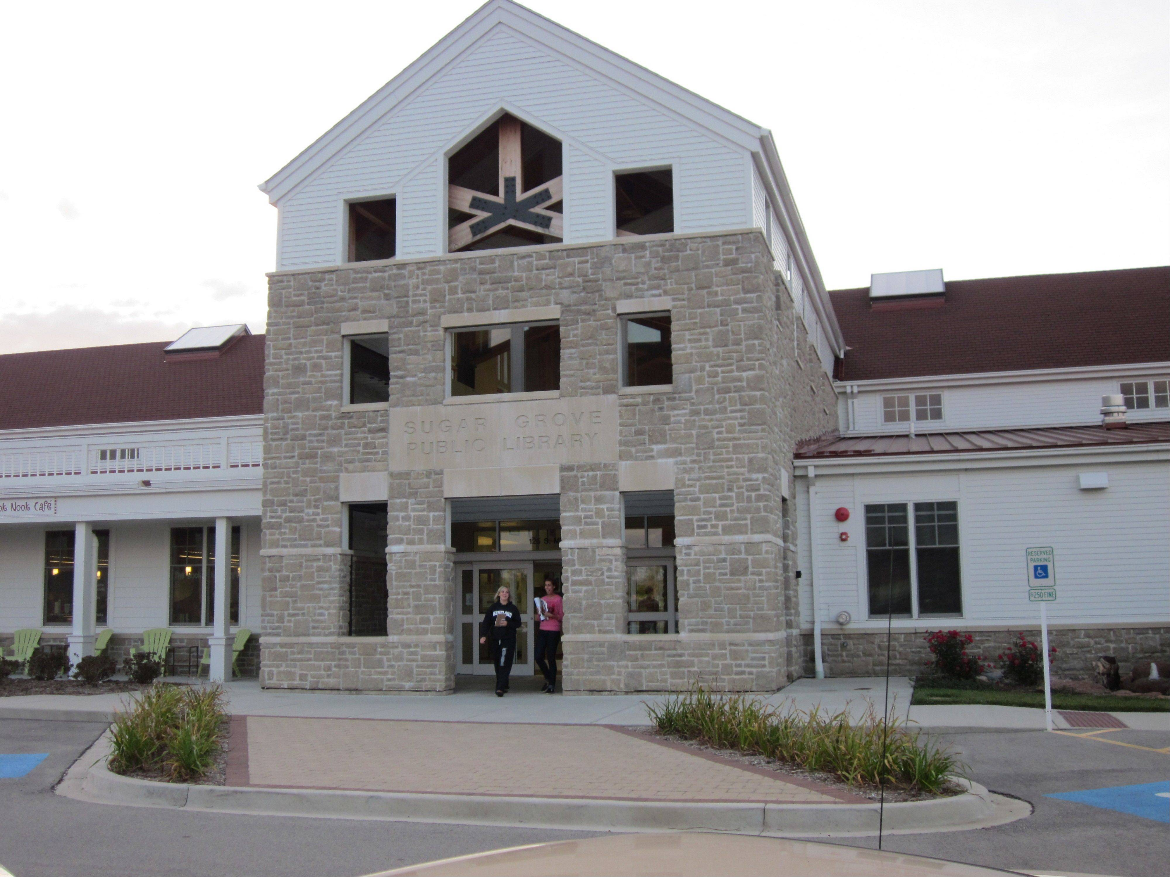 The Sugar Grove Library.