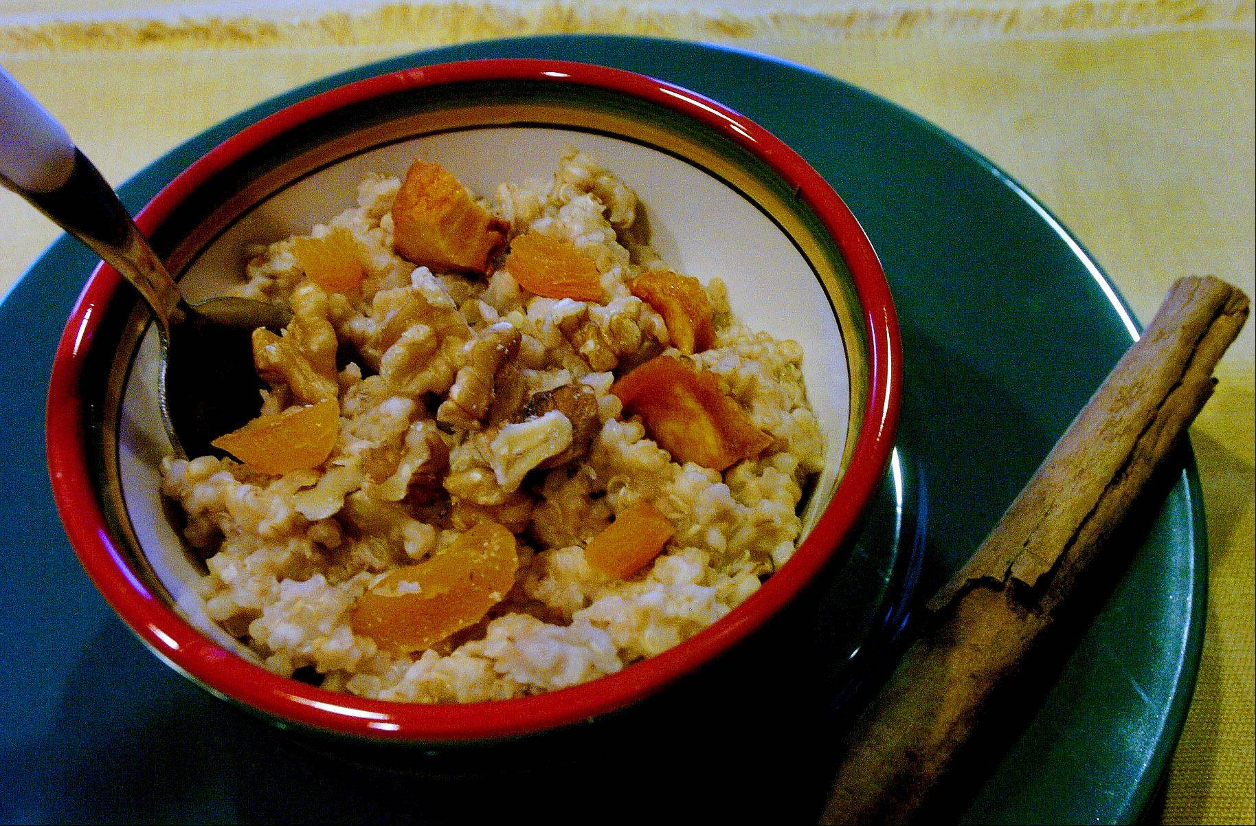 Steel Cut Oats and Quinoa Hot Cereal