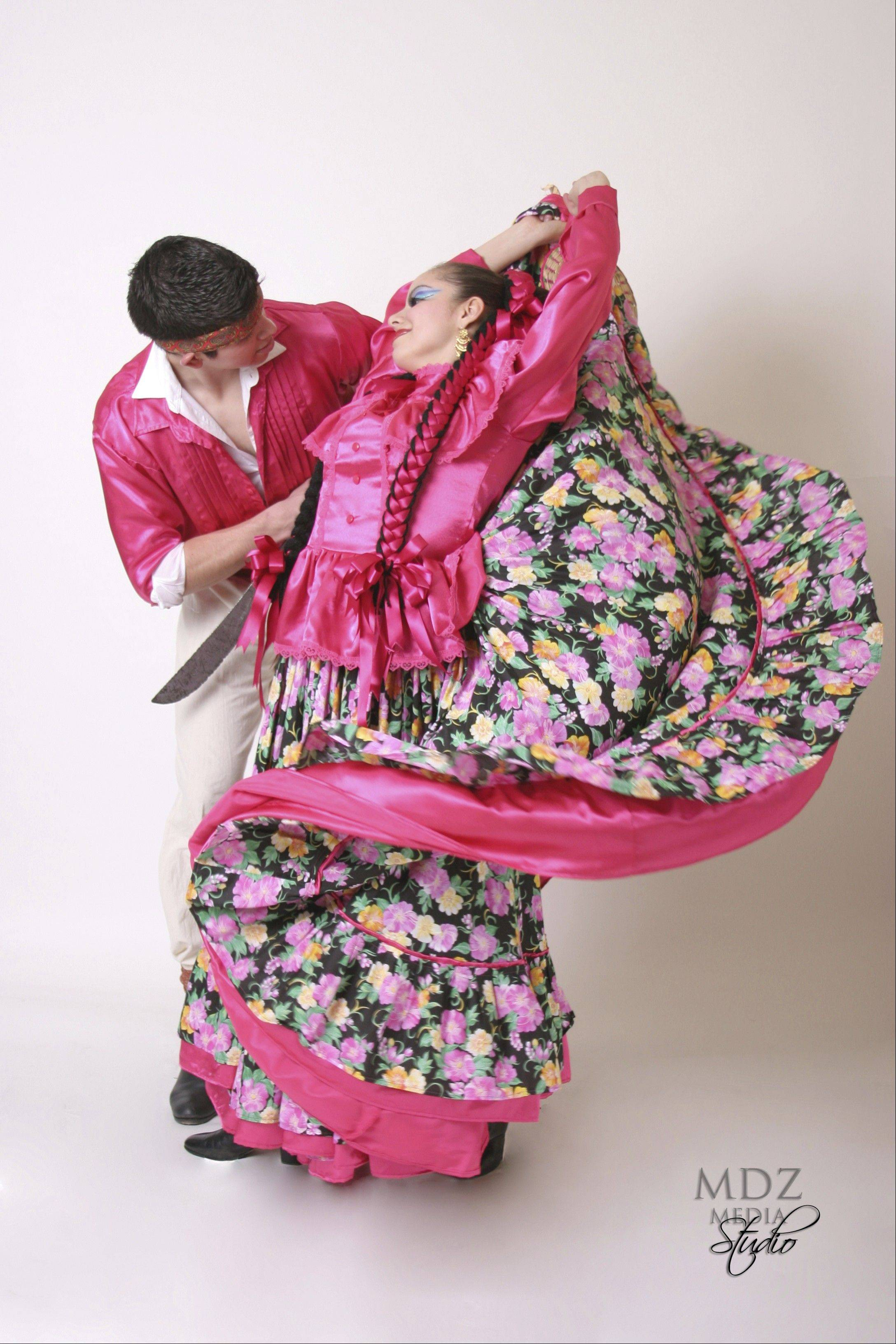 Aurora's own Ballet Folklorico Quetzalcoatl performs regional Mexican dances at the Paramount Theatre on Saturday, Dec. 17.