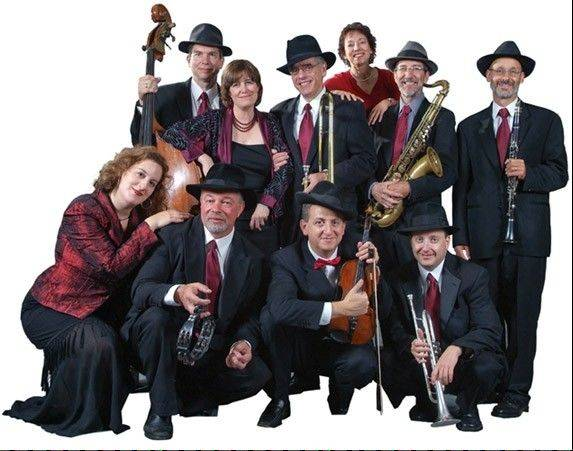 The Maxwell Street Klezmer Band will entertain guests at the Chicago Botanic Garden in Glencoe as part of a special Hanukkah dinner on Wednesday, Dec. 21.