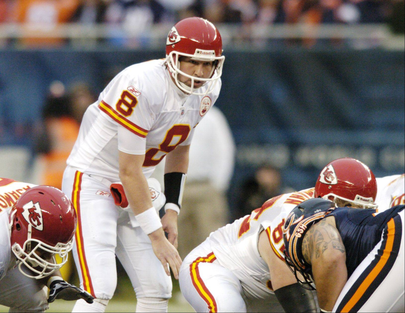 Kansas City Chiefs quarterback Kyle Orton played one down against the Bears, but he is expected to start Sunday against the Green Bay Packers.