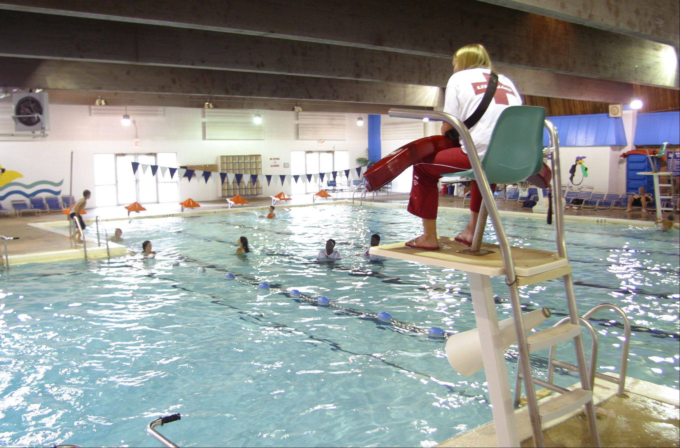 Collins Pool in Carol Stream closed in 2006 after leaks were discovered on the pool's deck.