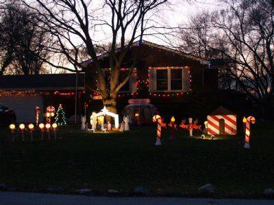 Chuck Heeg II has been decorating his home at 17000 N. Chicago Ave. in Arlington Heights since 1995. It takes about a week to set up and Chuck strives to have a variety of everything. The lights are turned on from 4-10 p.m. through Jan. 1.