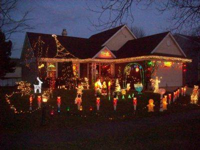 The Sullivan family has been decorating their home at 1173 Brandywyn Lane in Buffalo Grove for