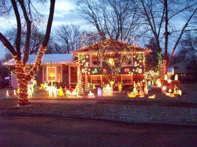 The Schmidt family has been decorating their home at 991 North Apple Tree Court in Palatine for more than 20 years.