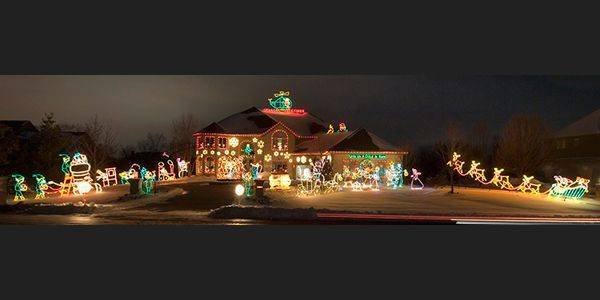 the dicosola winter wonderland at 4n494 mountain ash drive in wayne is featured in the book - Best Christmas Decorations