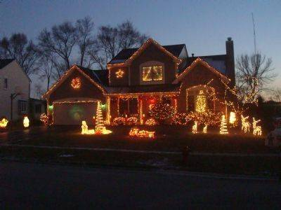 For almost 20 years, Carriage Hill Road in Island Lake has done it up right each Christmas, says Daniel Schmidt of 505 Carriage Hill Road. The display is like a great meal; well done, not overdone, he says.