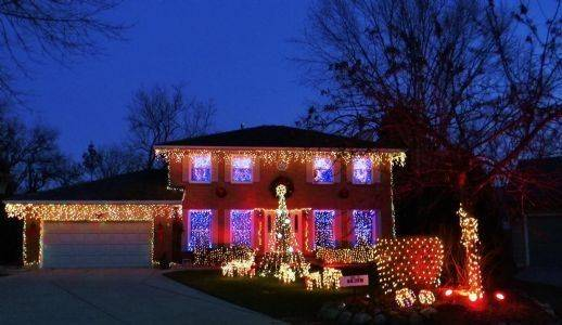 Doug Suhling started a light show about 10 years ago at 4285 Crabtree Court in Gurnee. display about 10 years ago and ever since then his 15-year-old son, Charlie, has loved it. Charlie synchronizes the songs on a computer while Doug hangs more than 8,000 lights. Catch last year's video at http://www.youtube.com/watch?v=Ikn39NMtw9s&context=C2a963ADOEgsToPDskLhyIUQI5uacSwOEi6ufju1.