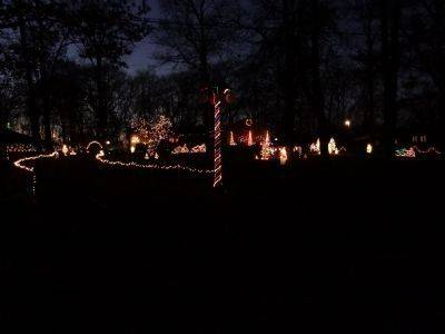 On a dead-end road in Wadsworth, you can always find The O'Brien's entire yard decorated for the holidays. From the snowmobilers out front waiting for the snowfall to the lighted tree forests with penguins, the holiday cheer goes around the entire house at 40650 N. Forest View Road.