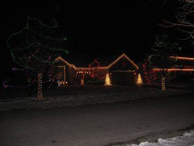 """When I was a little girl, my favorite thing to do during Christmas was to drive around and see all the lights on neighborhood houses,"" says Tina Ring. Each year, she and her husband add something to the decorations at their home at 886 Tiffany Farms Roadin Antioch. One neighbor has dubbed them ""The Griswalds."""