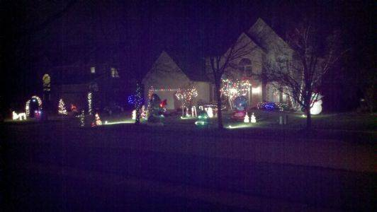 The Misura Holiday Fantasy Land gets bigger each year as 11-year-old Colin spends hours decorating the house, with a little help from Dad, at 1649 Derby Drive in Batavia.